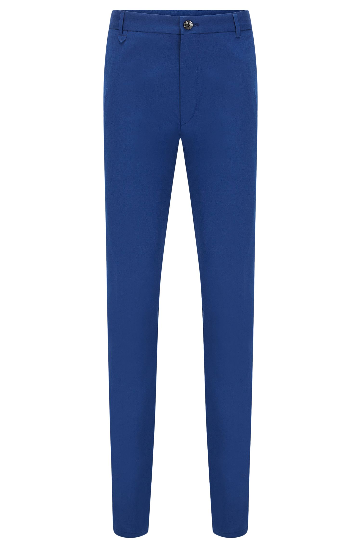 Extra-slim-fit trousers in stretch cotton