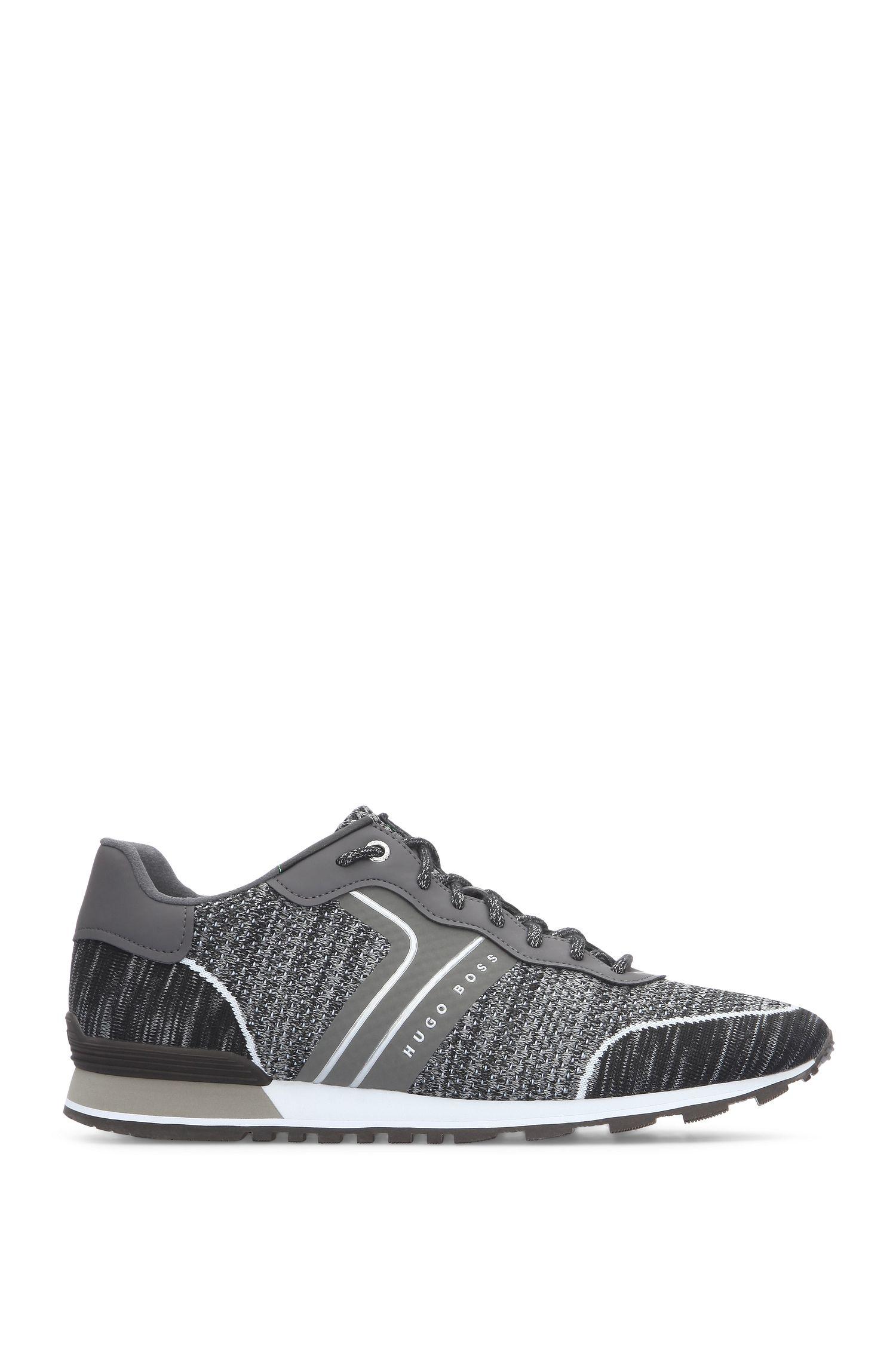 Sneakers van een gebreide materiaalmix: 'Parkour_Runn_sykn'