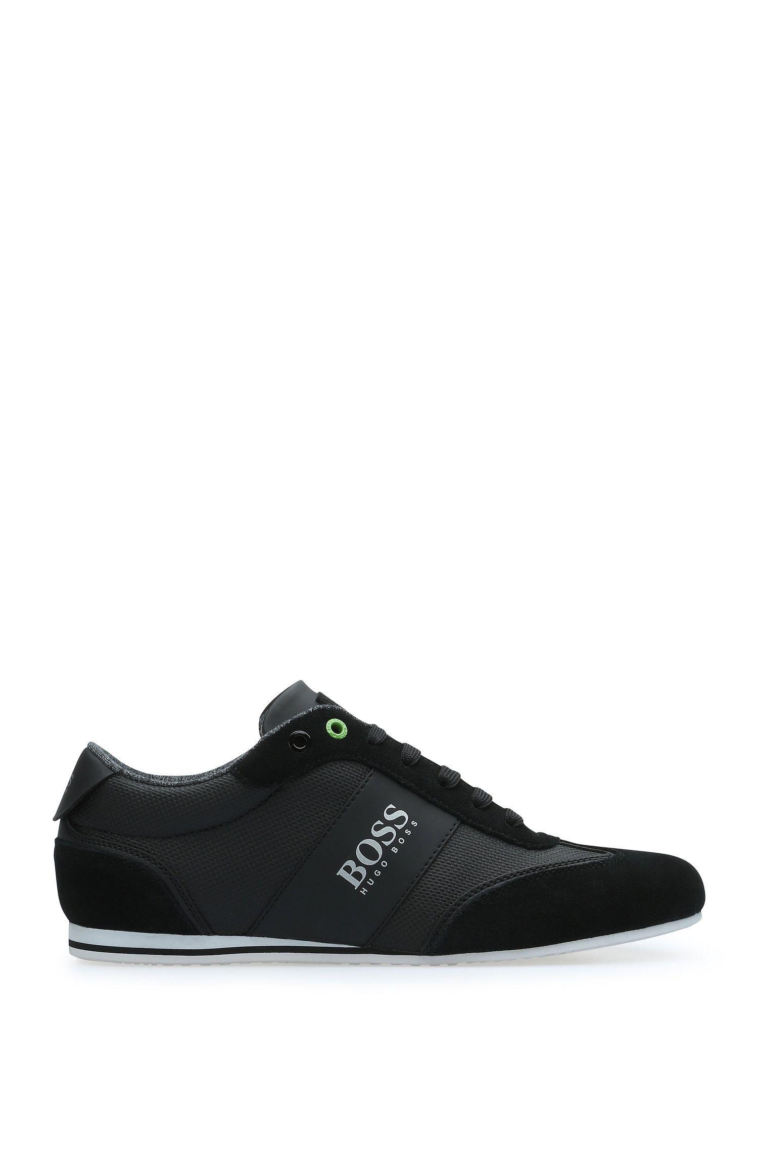 Sneakers aus Material-Mix mit Textil und Leder: ´Lighter_Lowp_cvc`