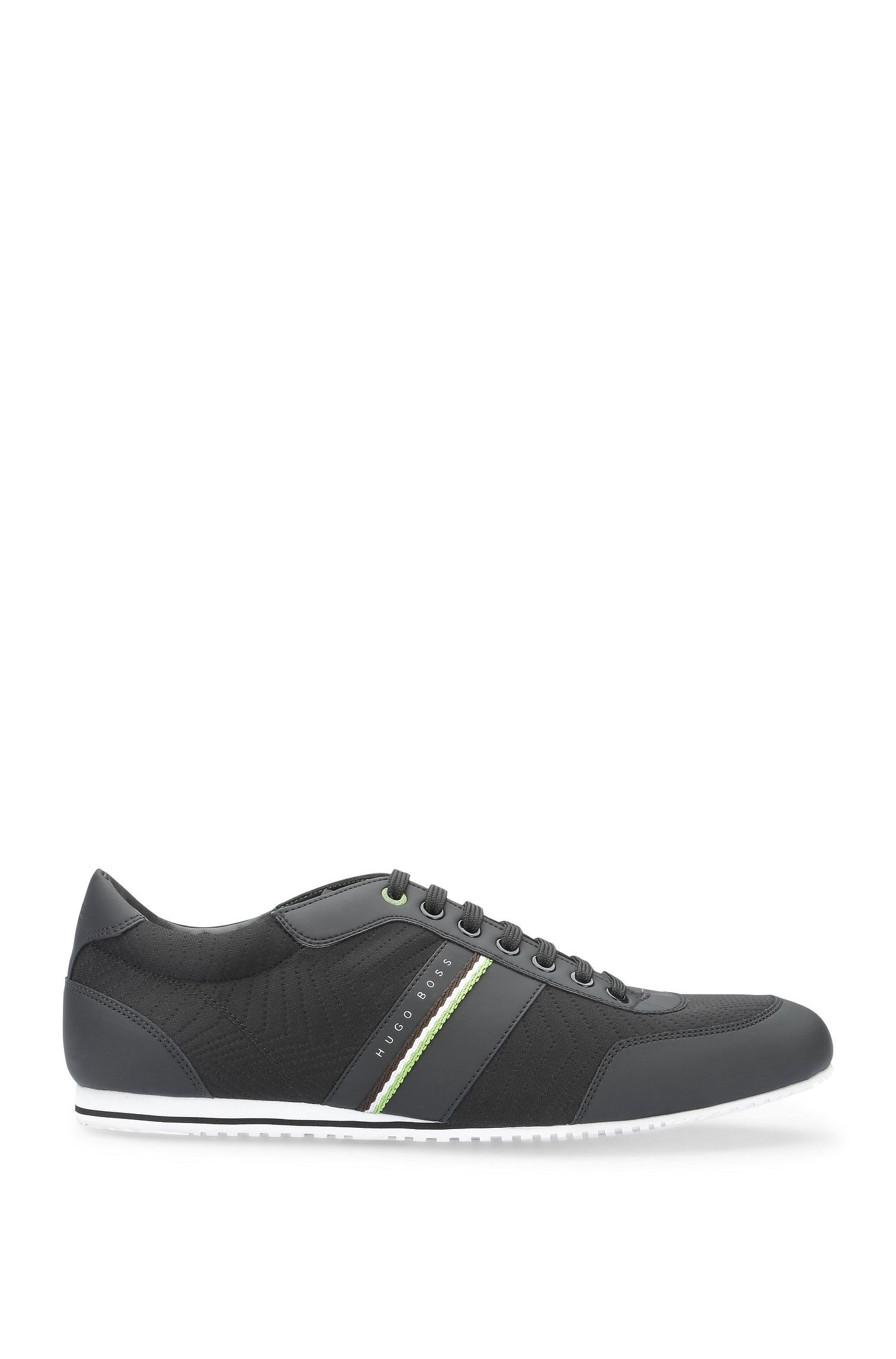 Sneakers traforate in materiali misti: 'Lighter_Lowp_nepr'