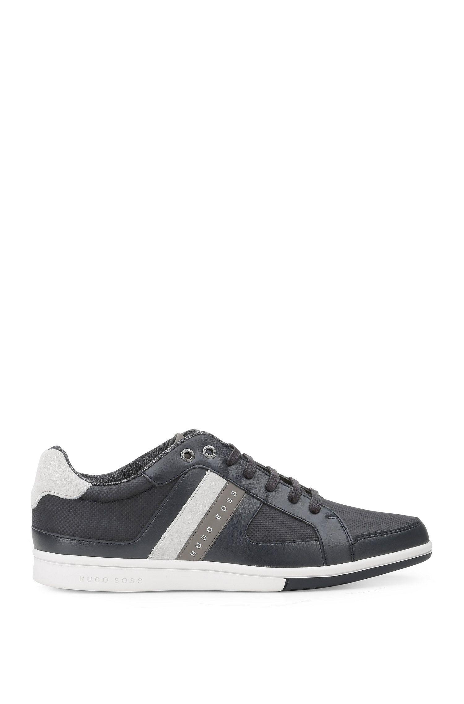Lage sneakers van een materiaalmix: 'Metro_Tenn_cvc'