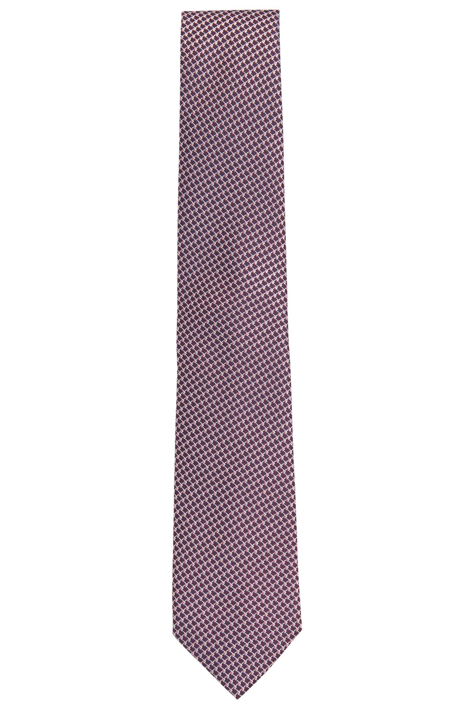 Cravate en soie à motif intégral: «Tie7,5cm»