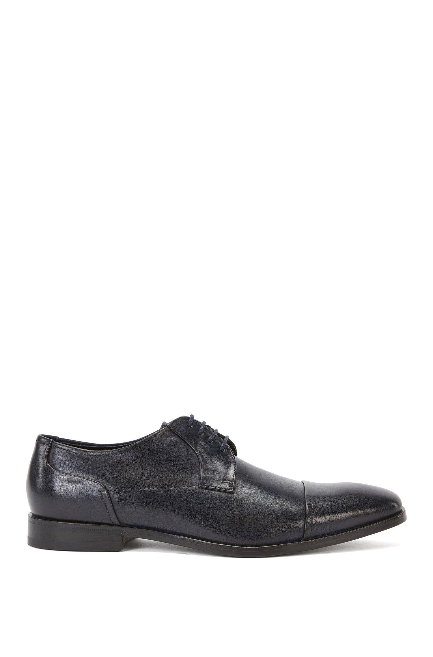 Chaussures à lacets en cuir à bout arrondi: «Square_Derb_ct»