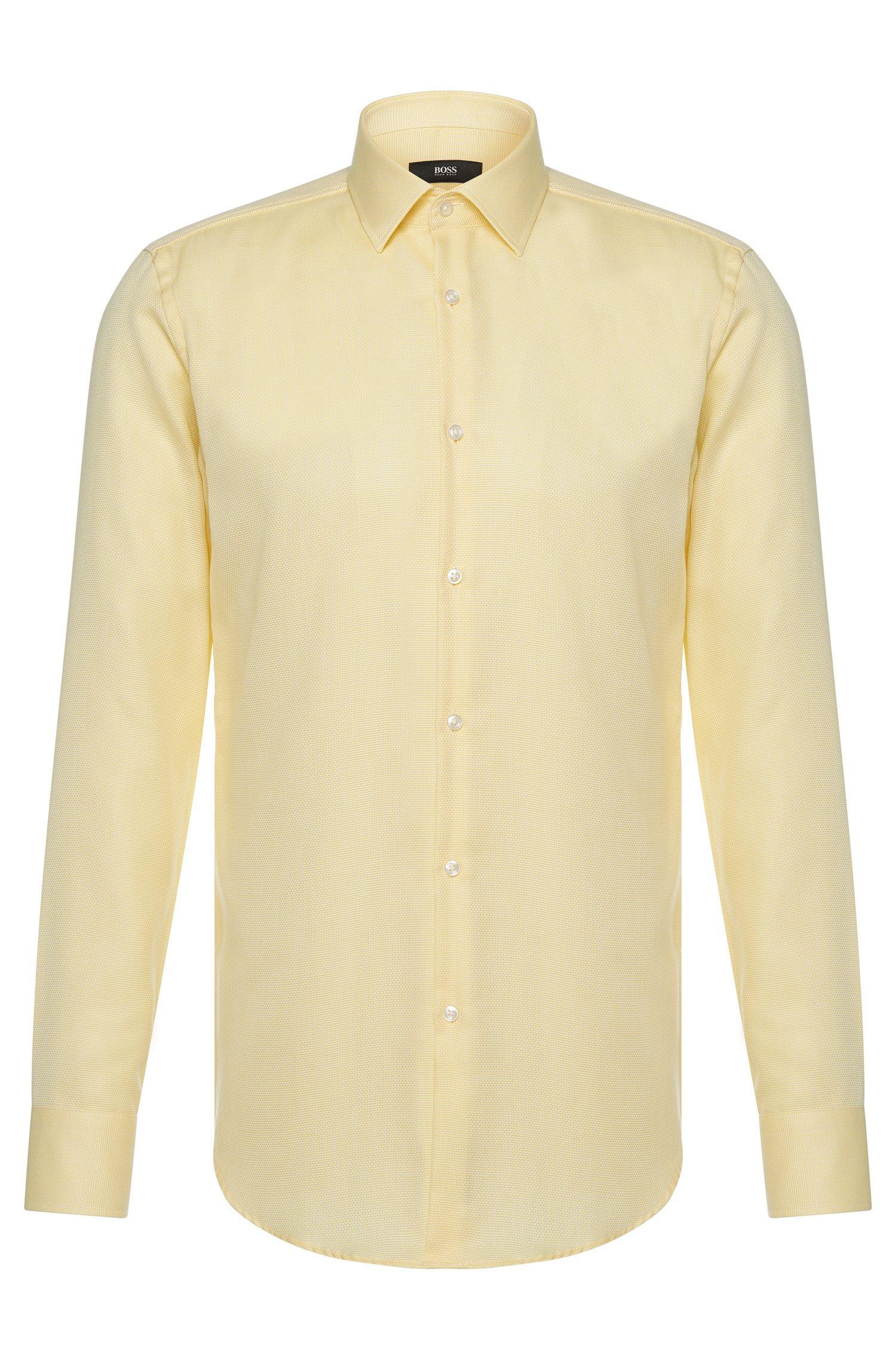 Bügelfreies Travel Line Slim-Fit Hemd aus Baumwolle: 'Jenno'