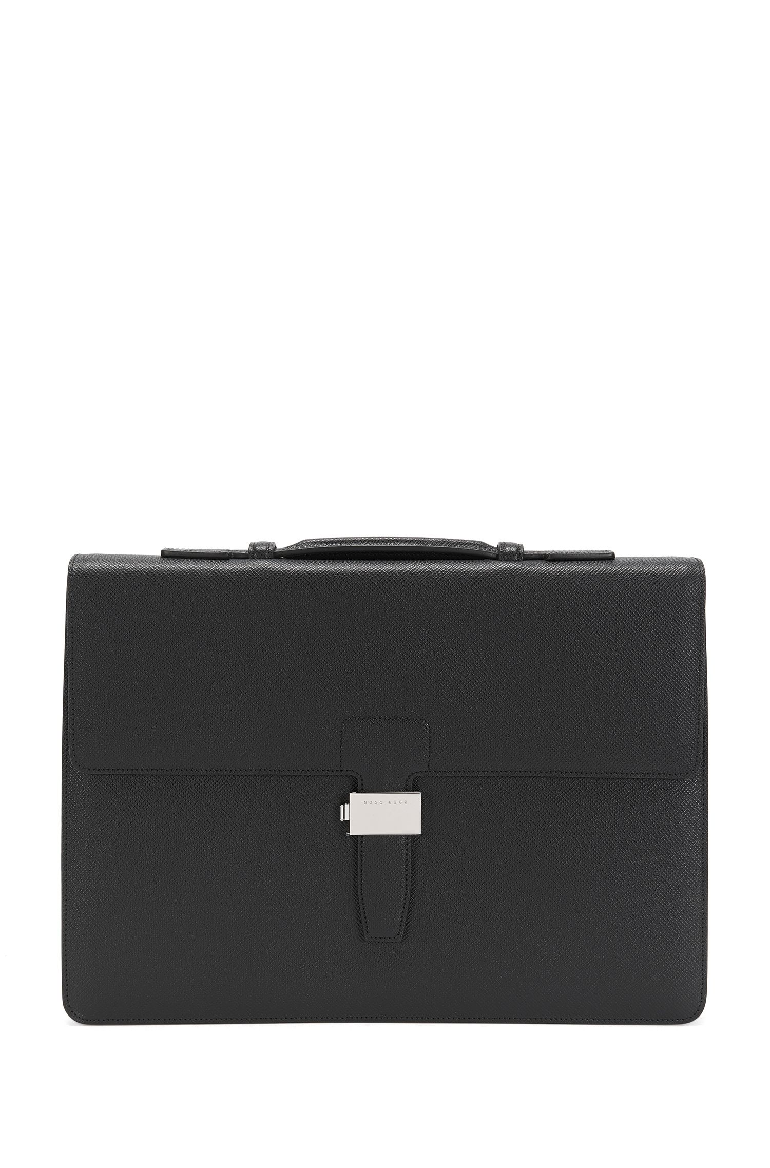 Briefcase in Palmellato leather: 'Signature_Brief SN'
