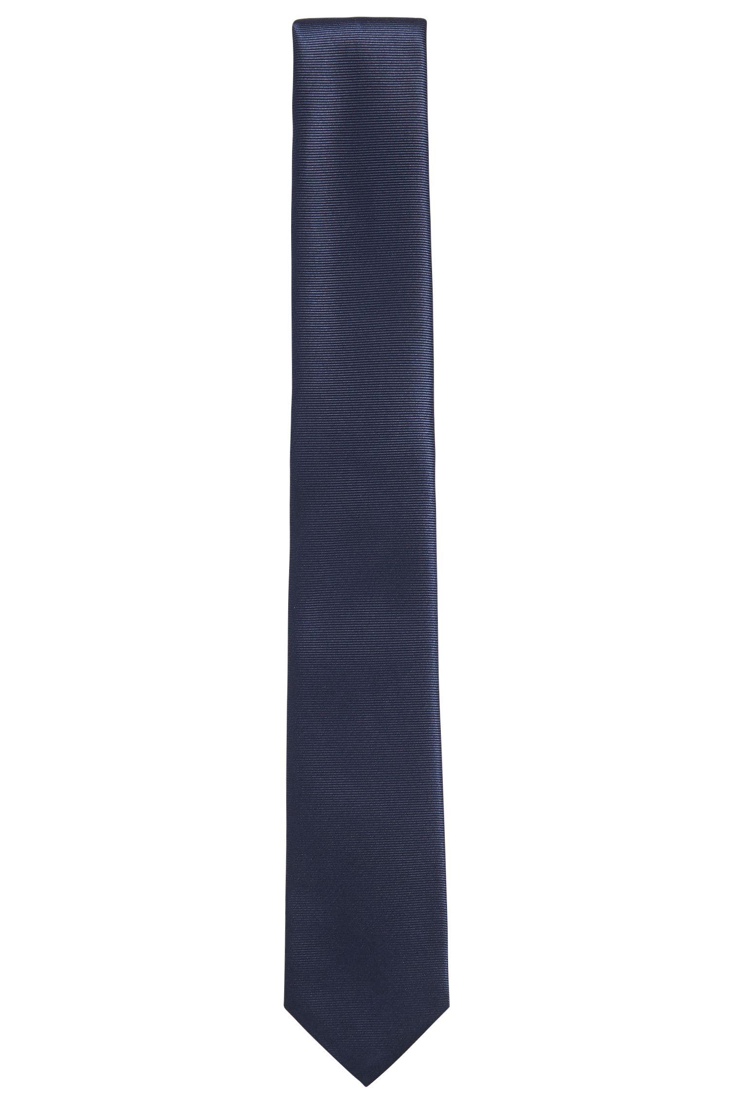 Corbata de seda de la línea Tailored con textura fina: 'T-Tie 6cm'