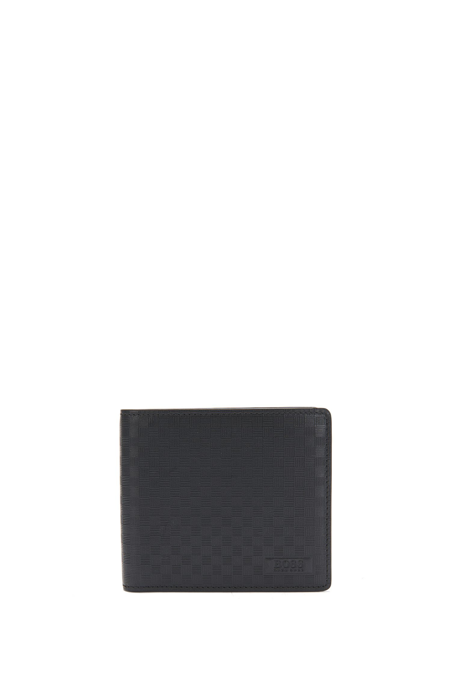 Wallet and card case in textured leather: 'GbB17SR_4cc coin S c'