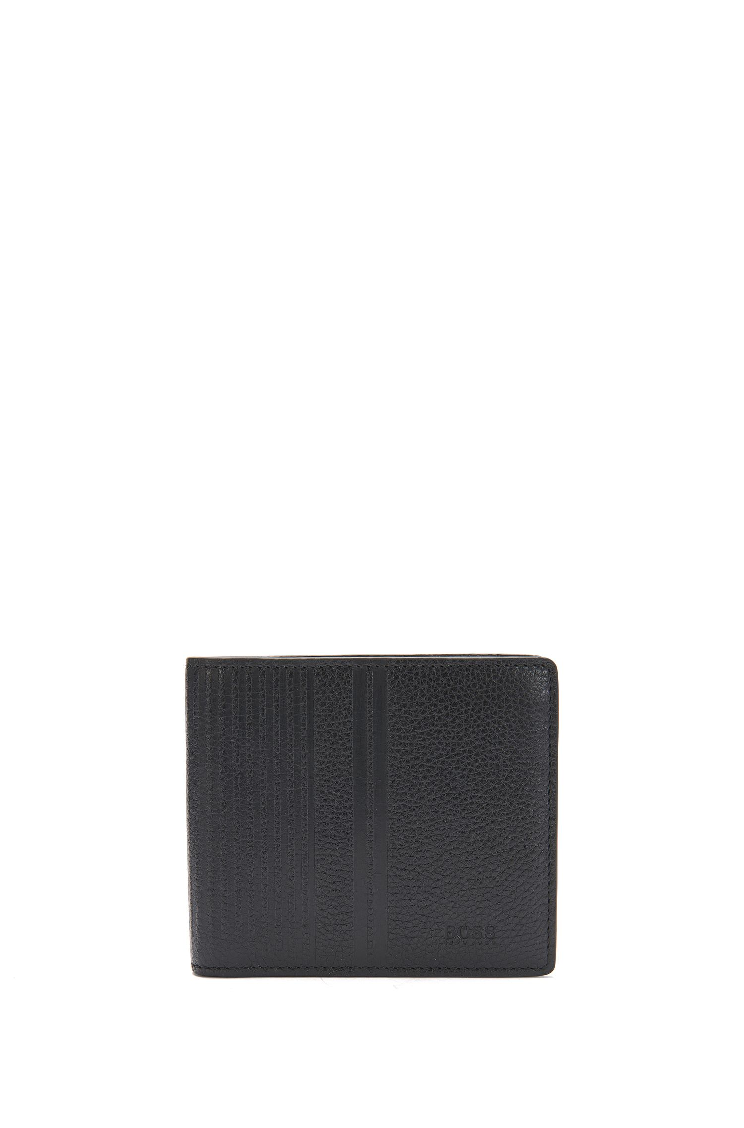 Wallet and card case in textured leather: 'GbB17SR_8 cc S card'