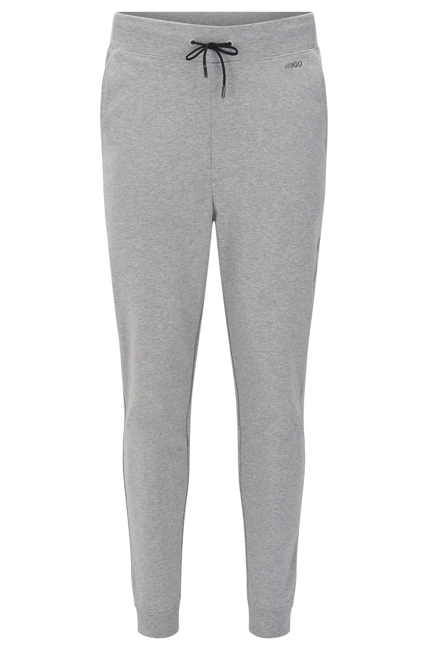 Pantalon de jogging Regular Fit en coton doté d'un cordon de serrage : « Derkins »