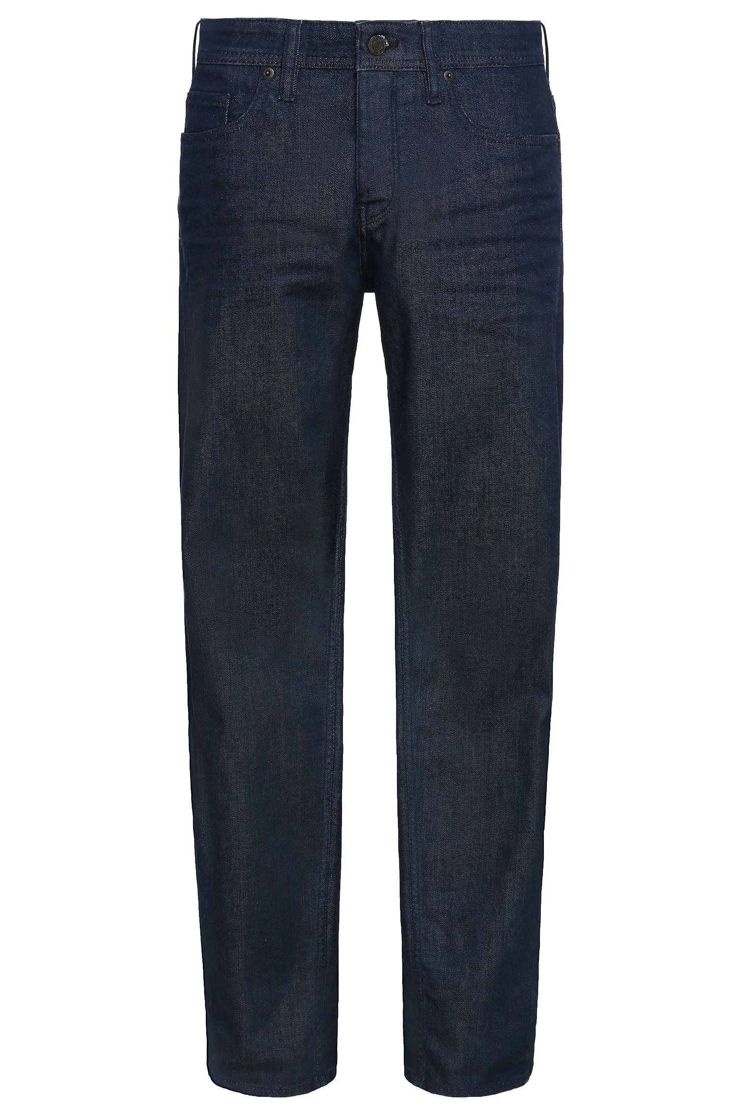 Jeans Tapered Fit en coton stretch: «Orange90»