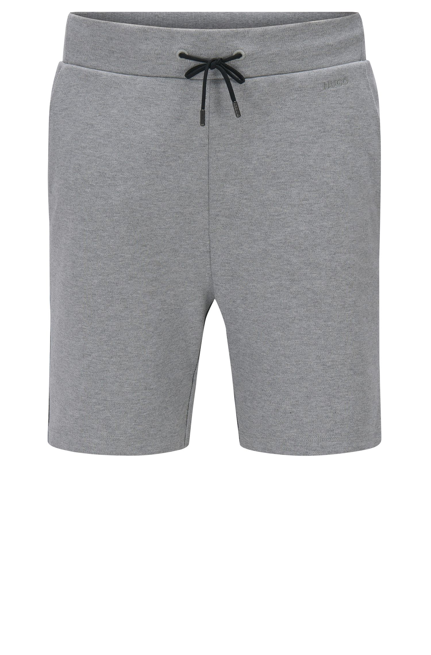 Regular-Fit Sweatshorts aus Baumwolle mit Tunnelzugbund: 'Dibbons'