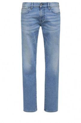 Jeans Regular Fit délavé en coton mélangé à teneur en élasthanne: «Orange24 Barcelona», Bleu