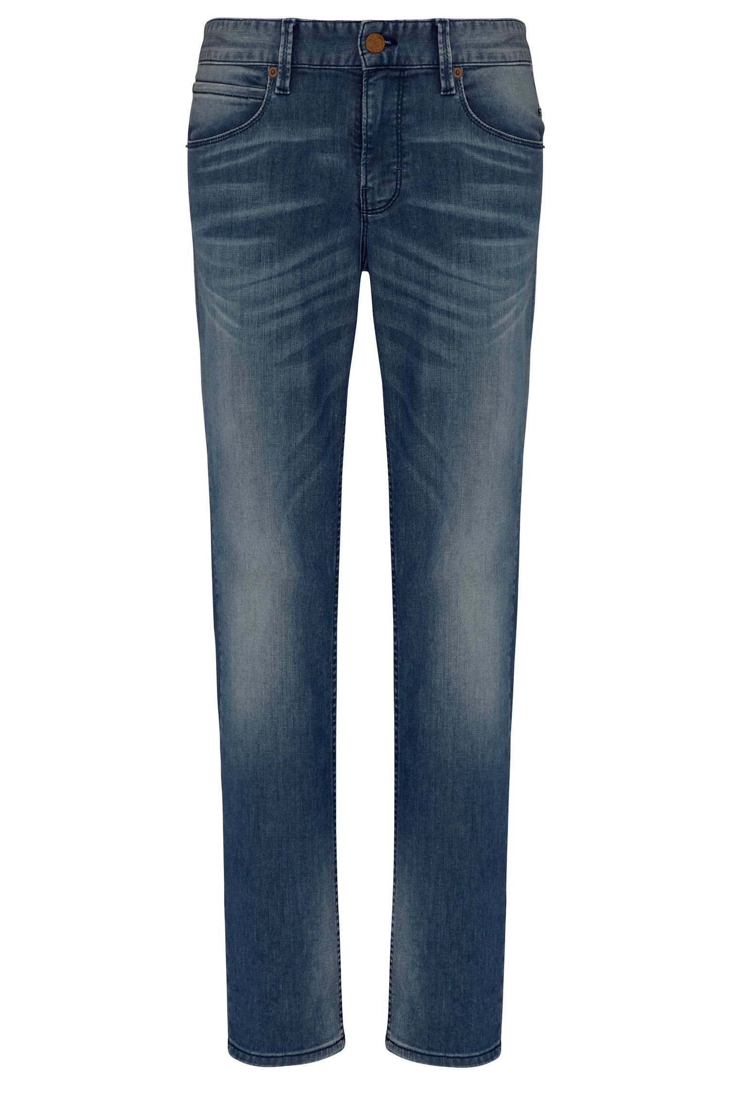 Slim-Fit Jeans aus Baumwoll-Mix mit Elasthan: ´Orange63`