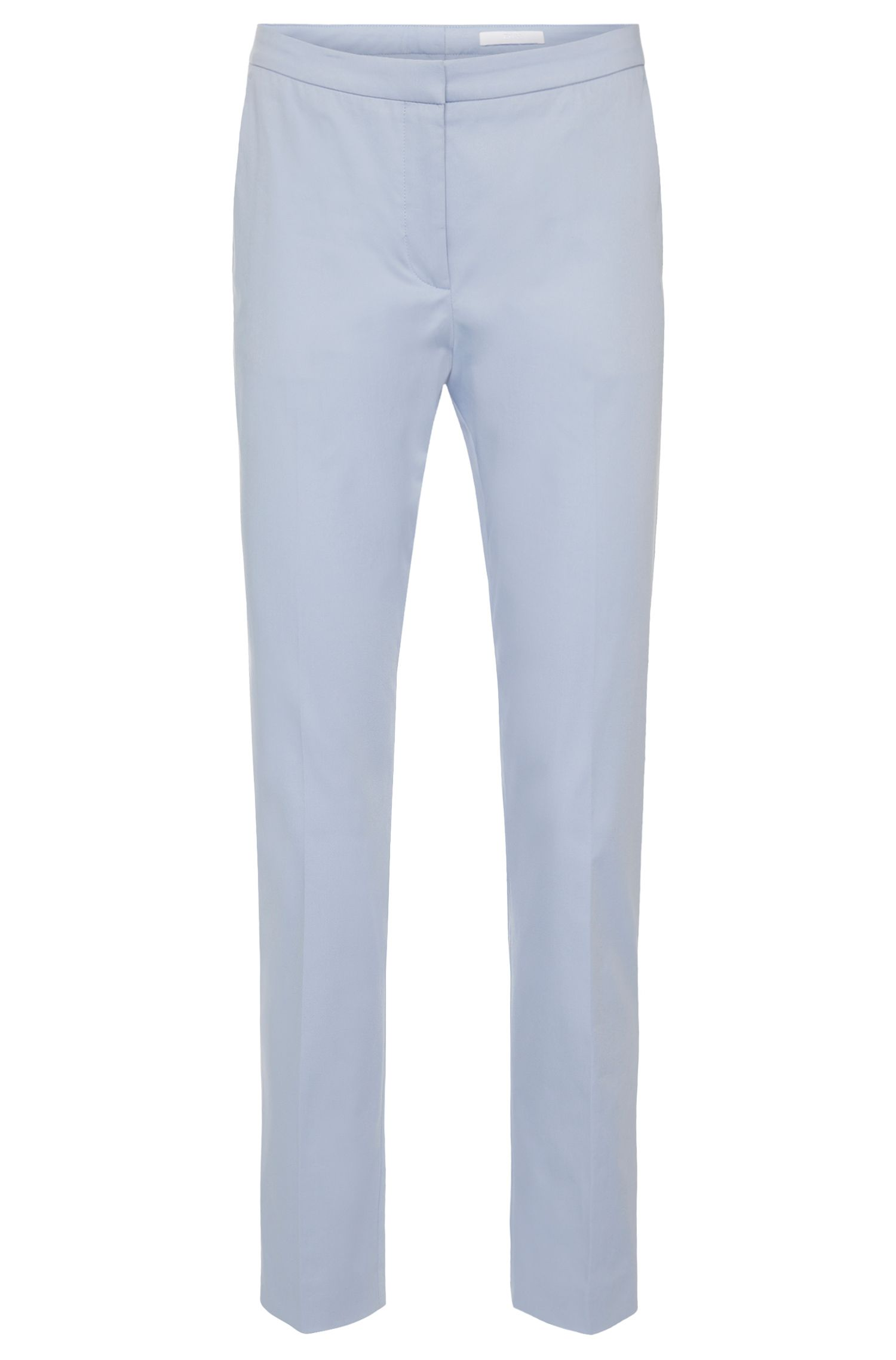 Relaxed-fit trousers in stretch cotton: 'Tobaluka7'