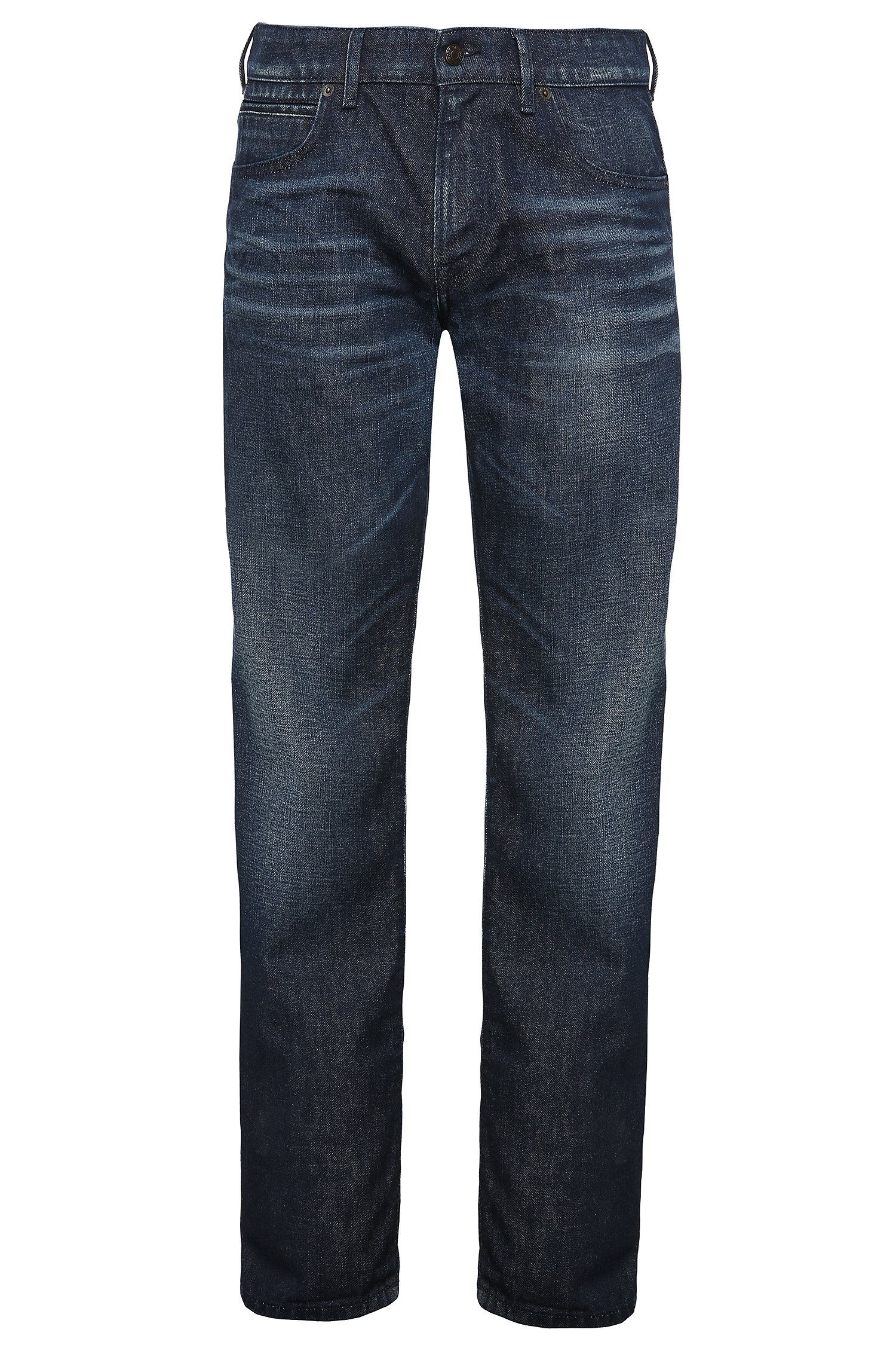 Regular-Fit Jeans aus reiner Baumwolle: ´Orange24 Barcelona`