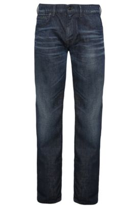 Regular-Fit Jeans aus reiner Baumwolle: ´Orange24 Barcelona`, Blau
