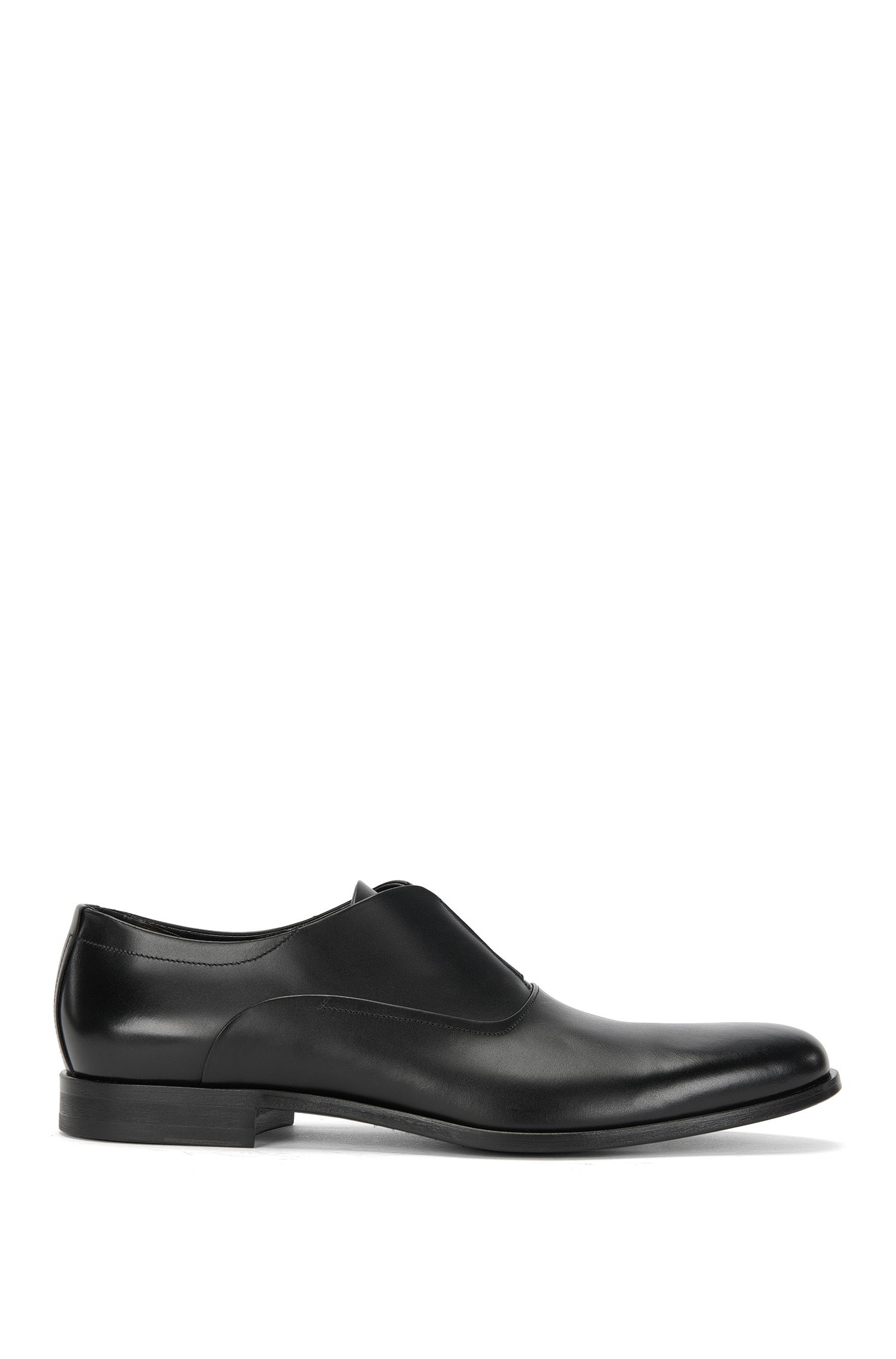 Leather loafers with elastic insert: 'Sigma_Slon_lt'
