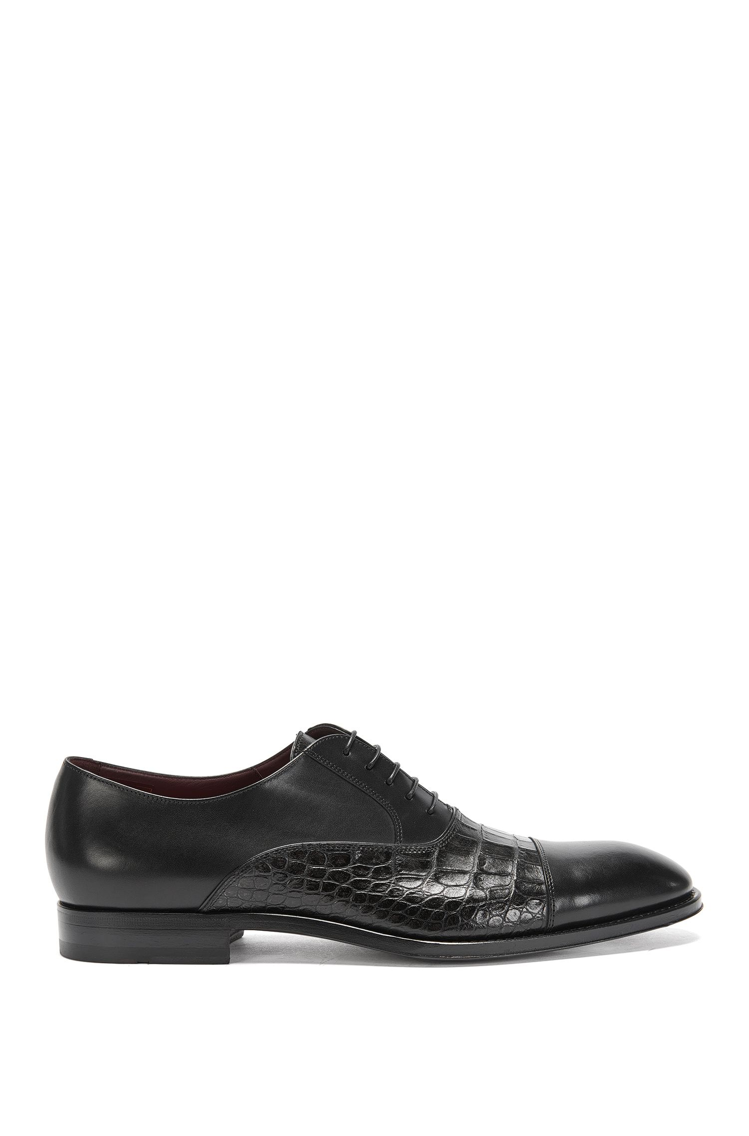 Tailored lace-up shoes in leather: 'T-Legend_Oxfr_exct'