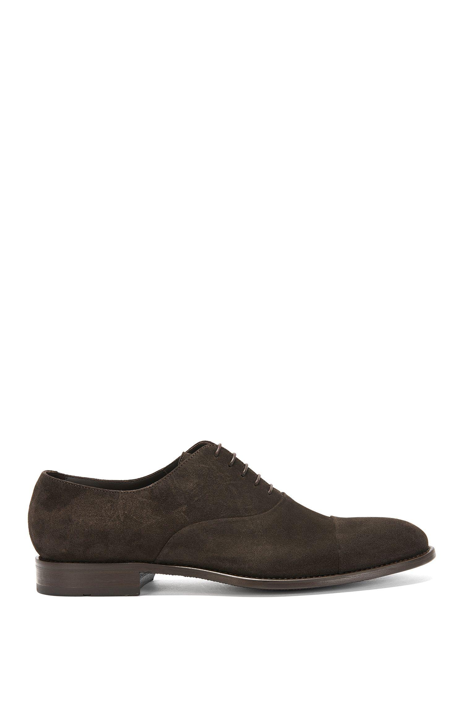 Chaussures à lacets en cuir souple: «Stockholm_Oxfr_sdct»