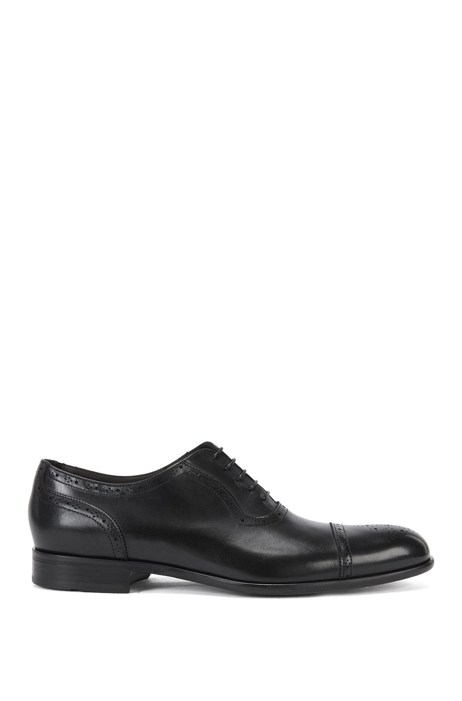 Chaussures à lacets en cuir à motif richelieu: «Manhattan_Oxfr_ctbr»