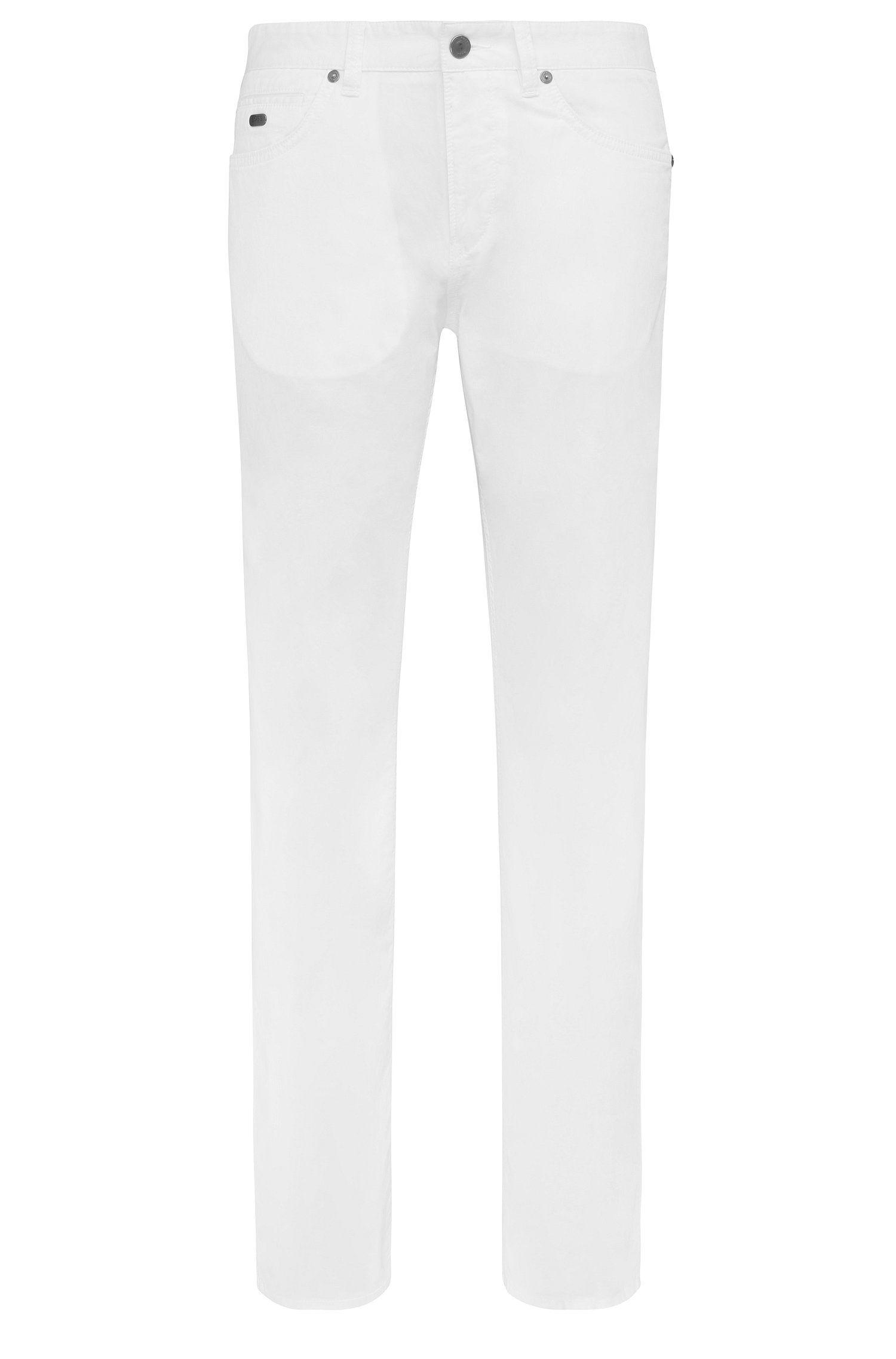 Pantalón slim fit en algodón elástico: 'C-Delaware3-3-20'