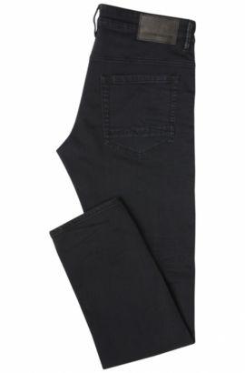 Skinny-Fit Jeans aus elastischem Baumwoll-Mix: ´Orange72`, Schwarz