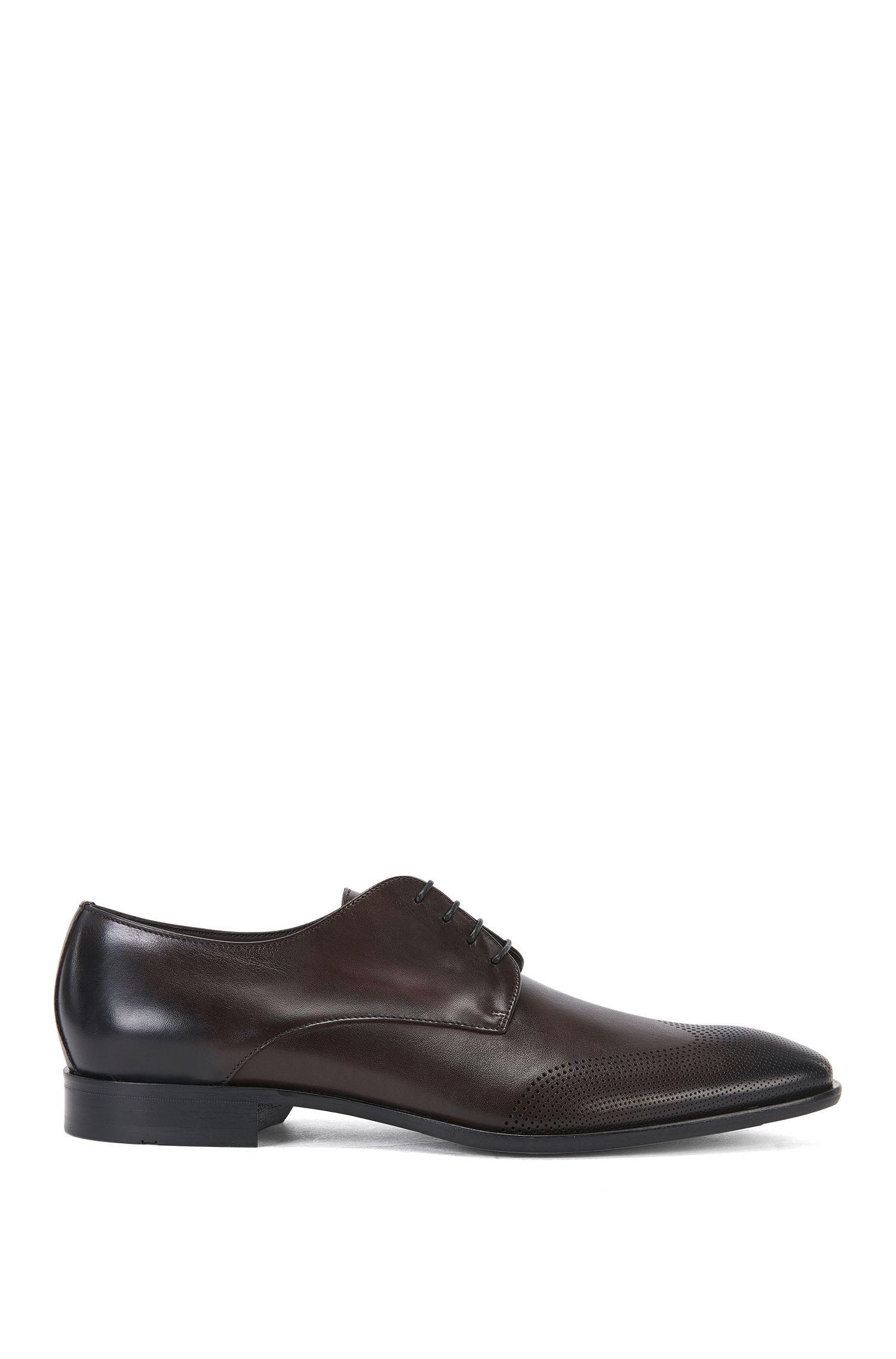 Zapatos con cordones en piel con brocado: 'Chelsea_Derb_wtls'