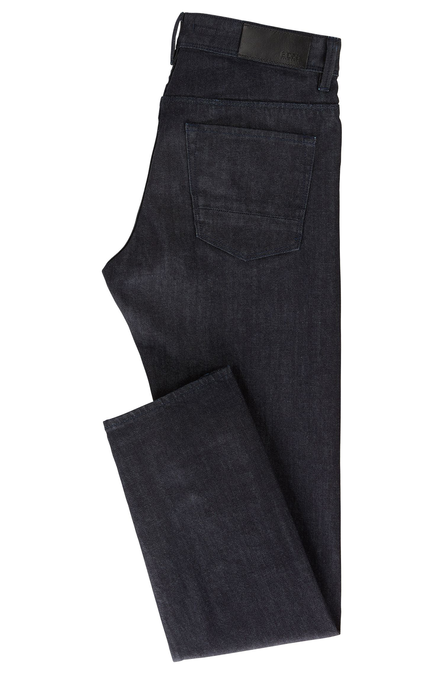 Slim-Fit Jeans aus elastischem Selvedge Denim