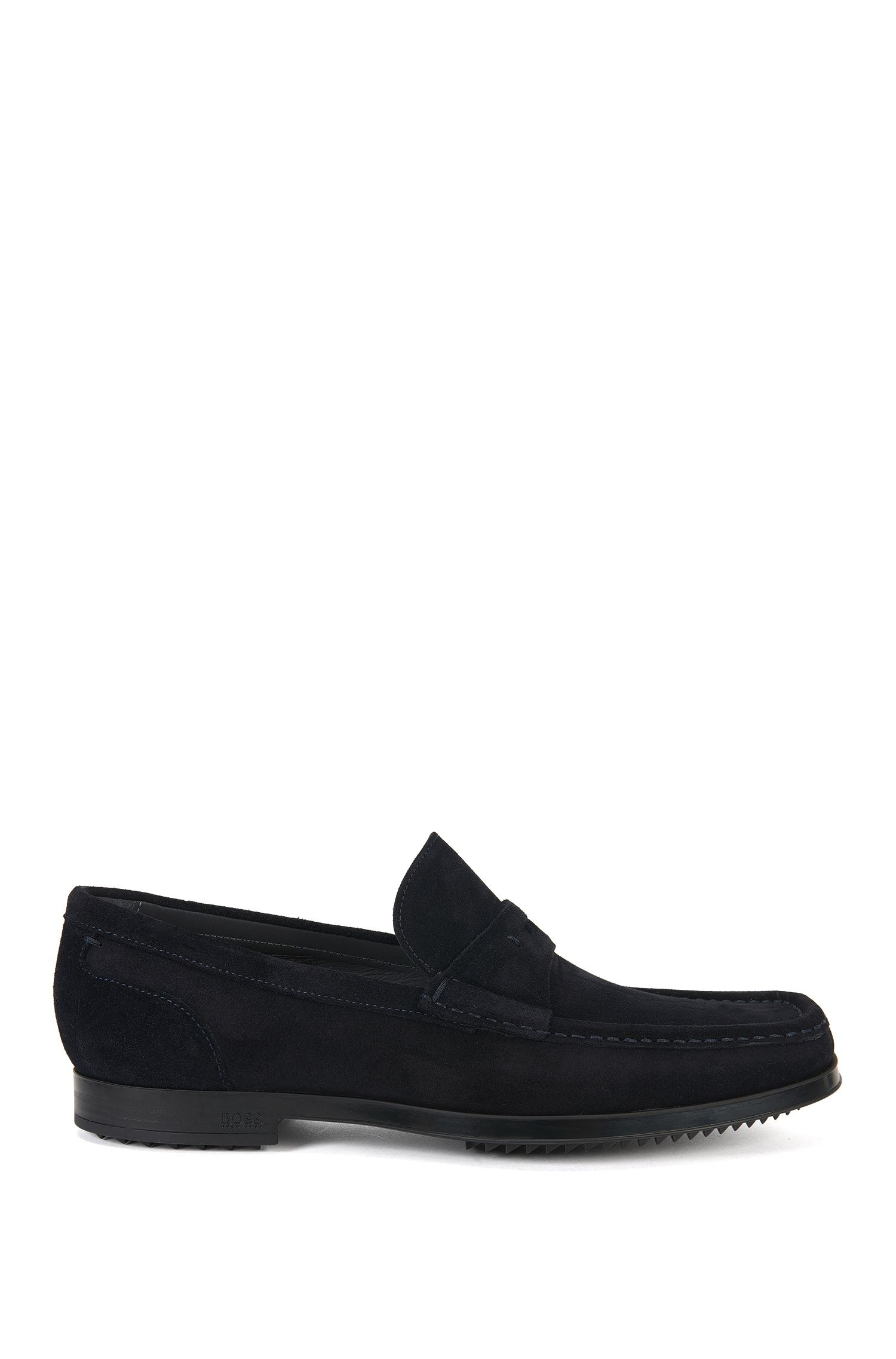 Suede moccasins: 'Classic_Mocc_sd'