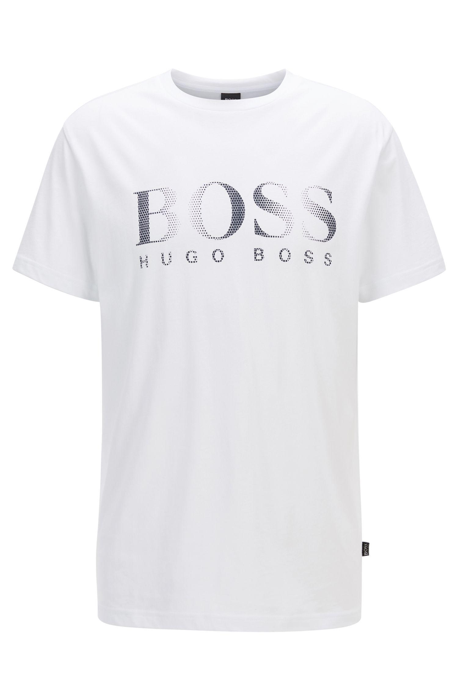 Relaxed-Fit T-Shirt aus Baumwolle mit UV-Schutz