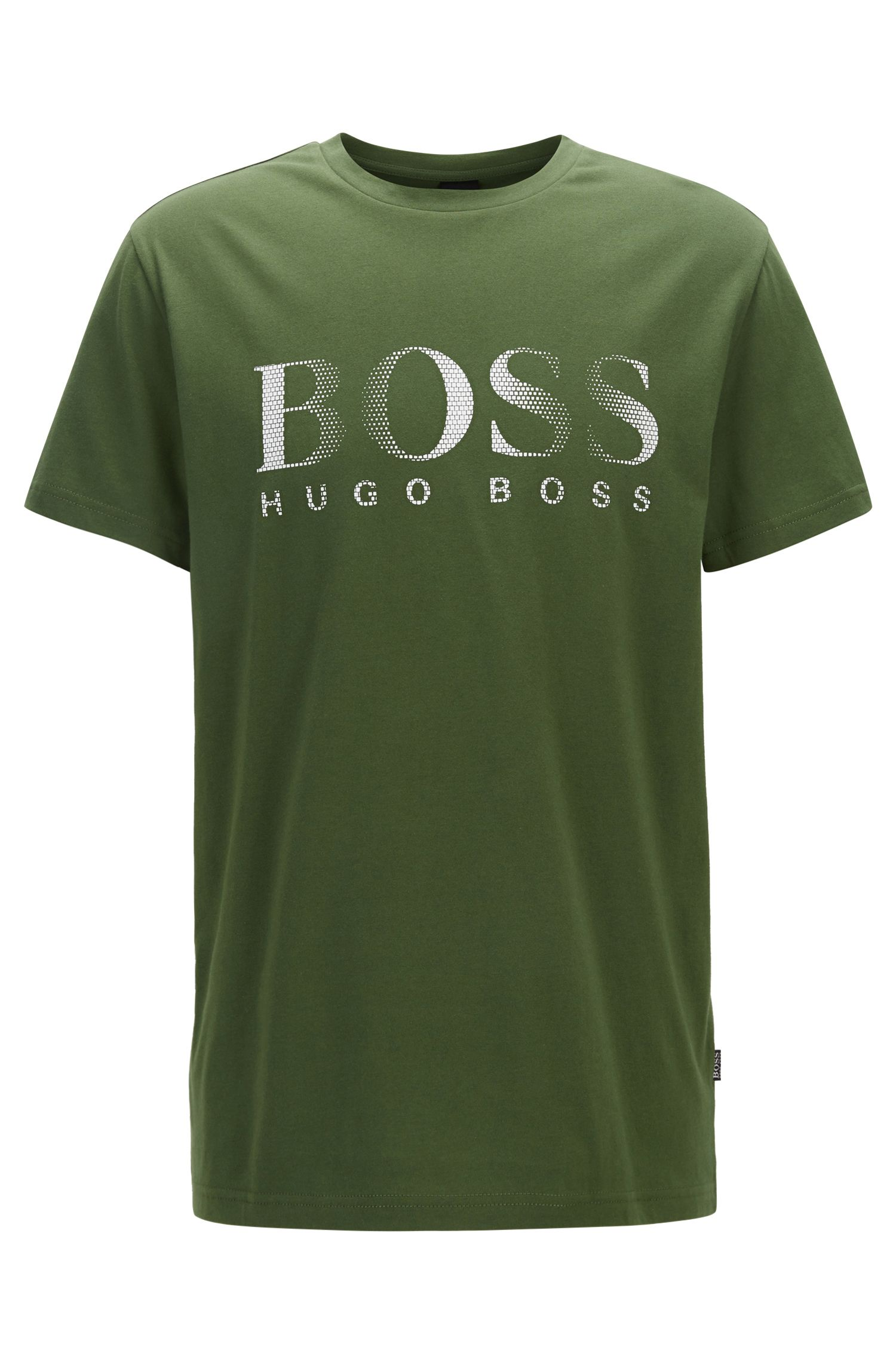 Relaxed-fit T-shirt van katoen met uv-bescherming