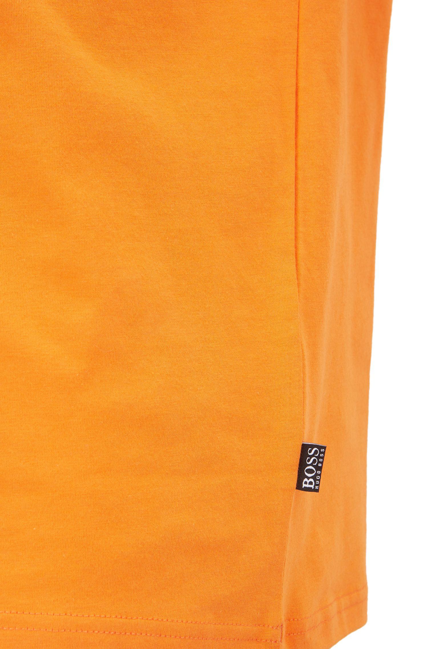 T-shirt Relaxed Fit en coton avec protection anti-UV, Orange