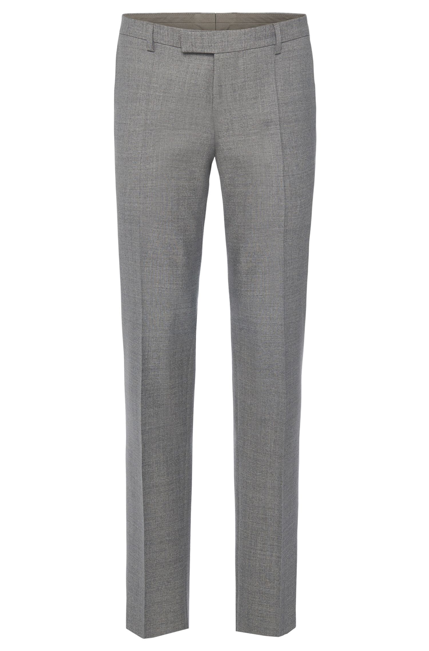 Pantalon Regular Fit Tailored en laine vierge : « T-Court5 »