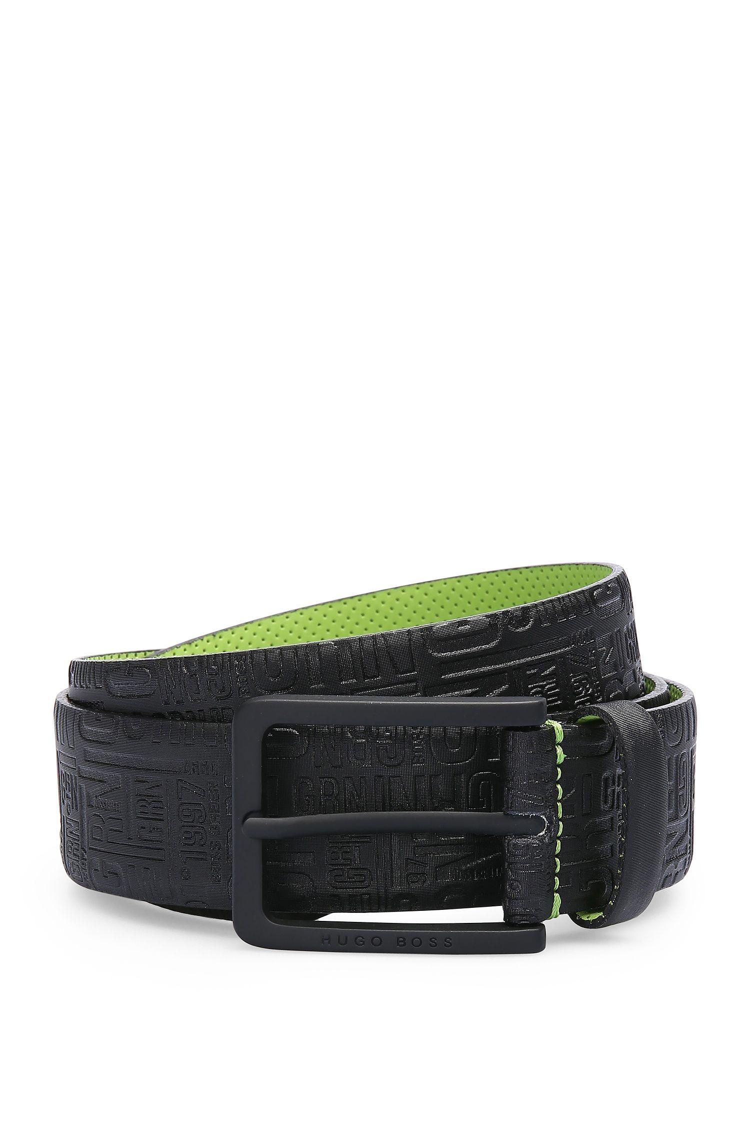 Cinturón de piel con un estampado llamativo: 'Tuscon_Sz35_ltem'