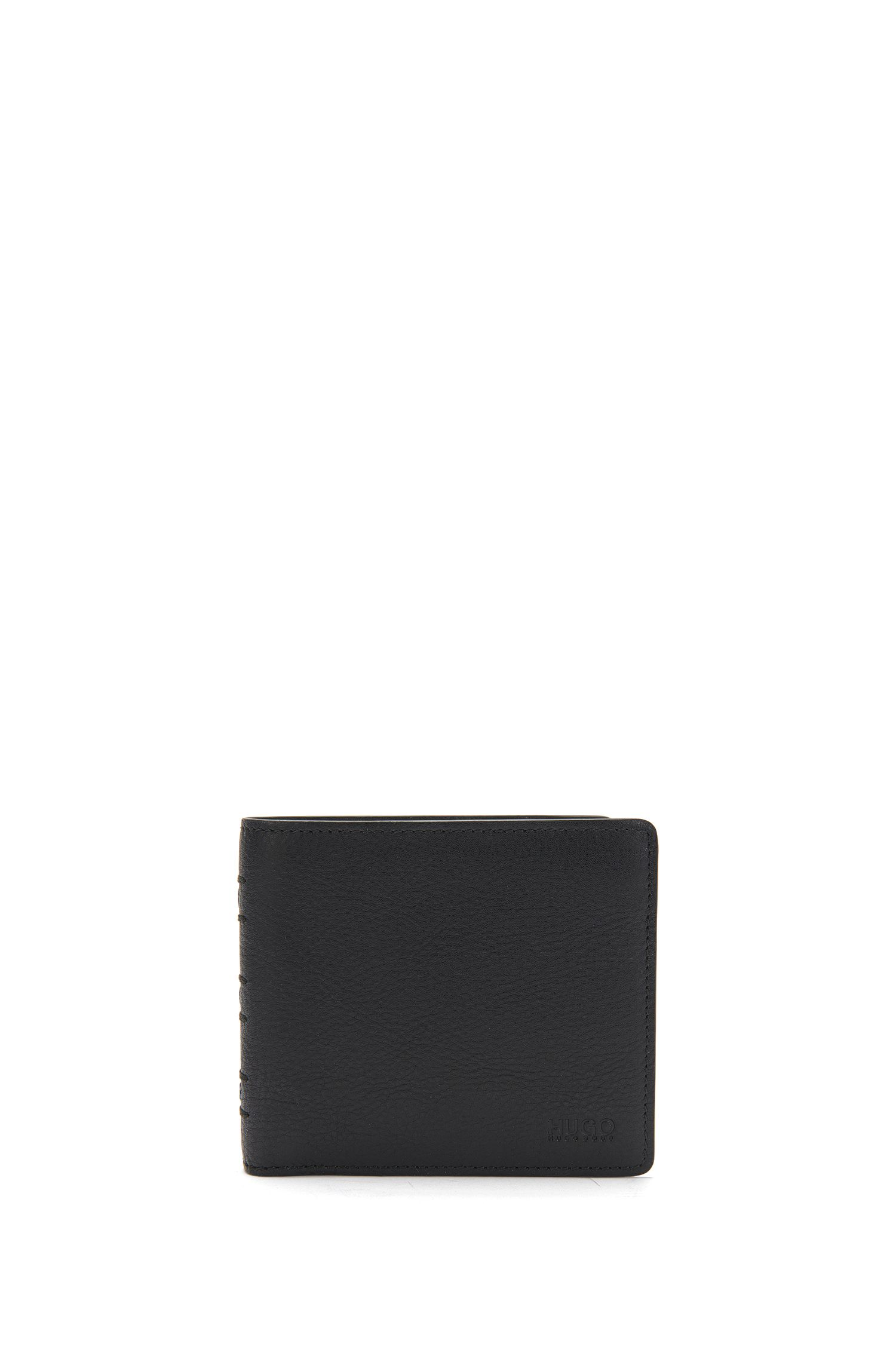 Wallet and key ring in leather: 'GbH17SR_4cc coin key'
