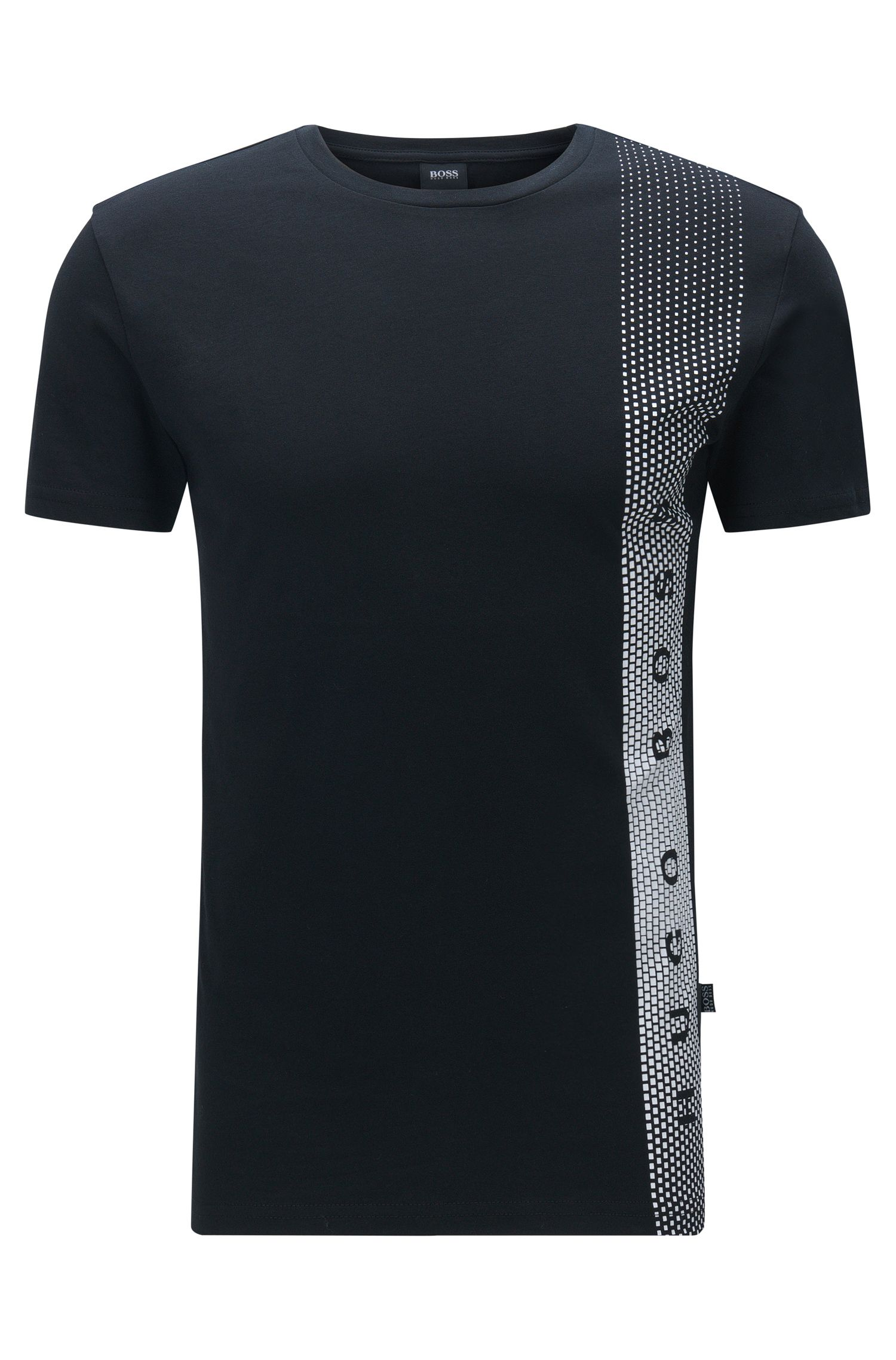 T-shirt Slim Fit en coton avec protection anti-UV: «T-Shirt RN»