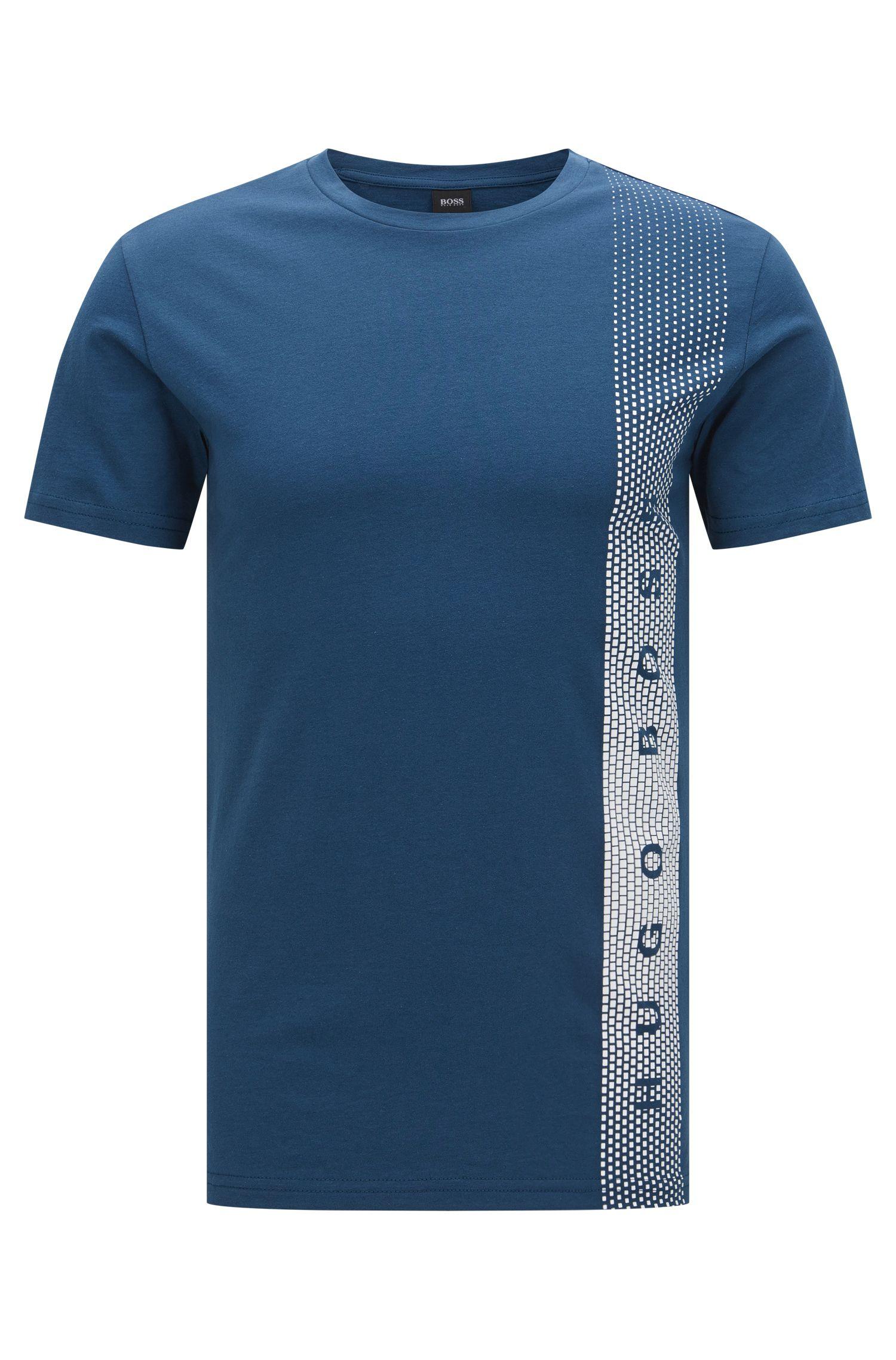 Camiseta slim fit de algodón con protección UV: 'T-Shirt RN'