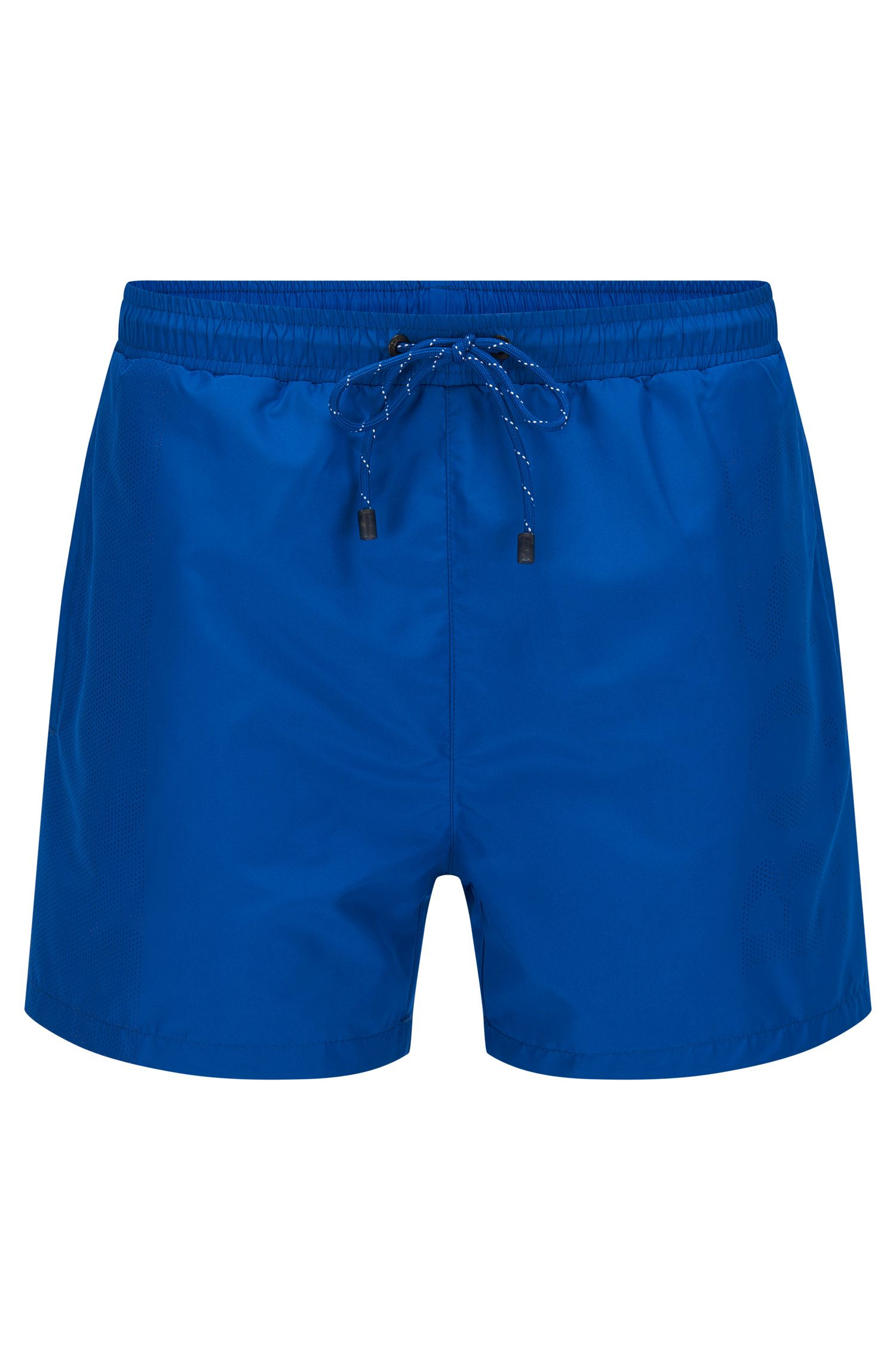 Plain swim shorts in a quick-drying material blend: 'Lizardfish'