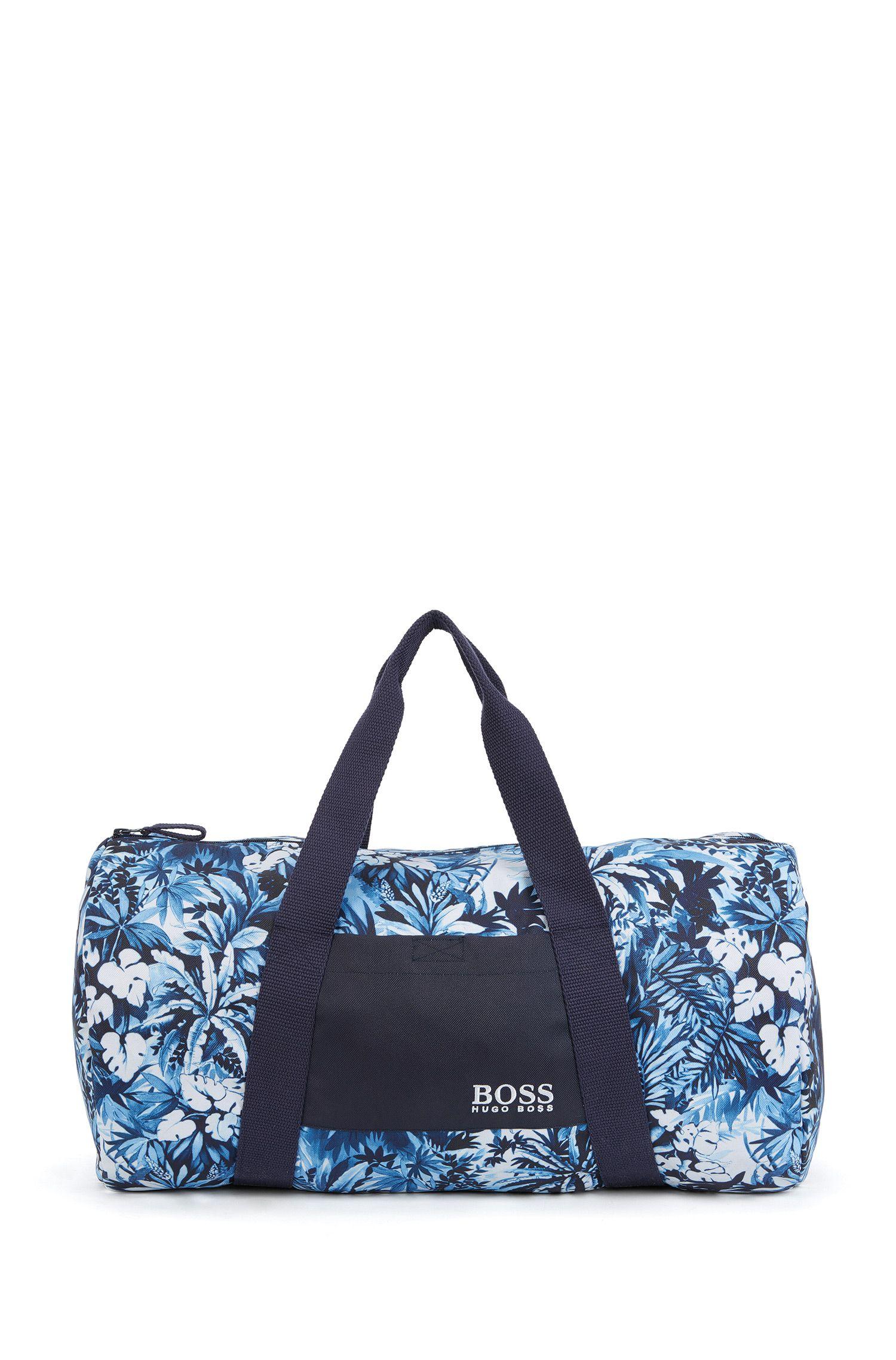 Sac de plage à motif en mélange de matières au séchage rapide: «Beach Bag»