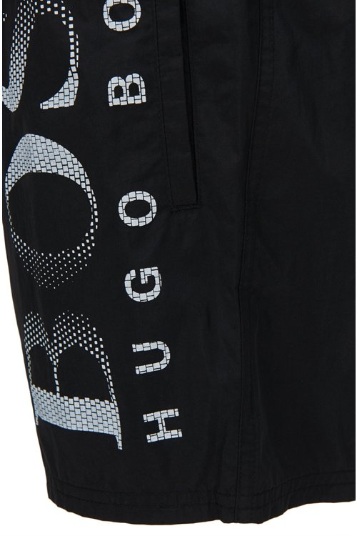 Hugo Boss - Bañador short con cordón y logo estampado - 2