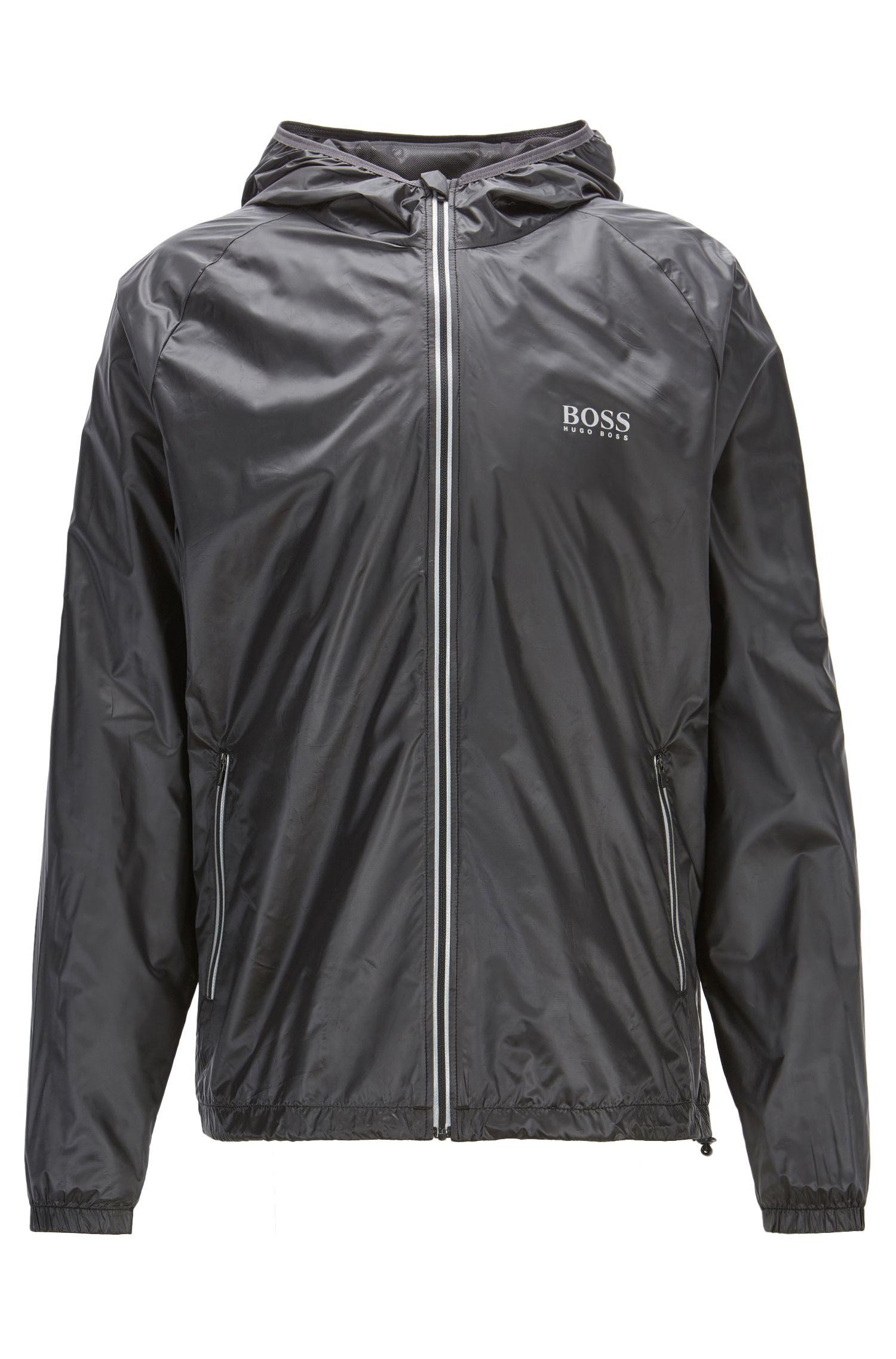 Regular-fit technical beach jacket