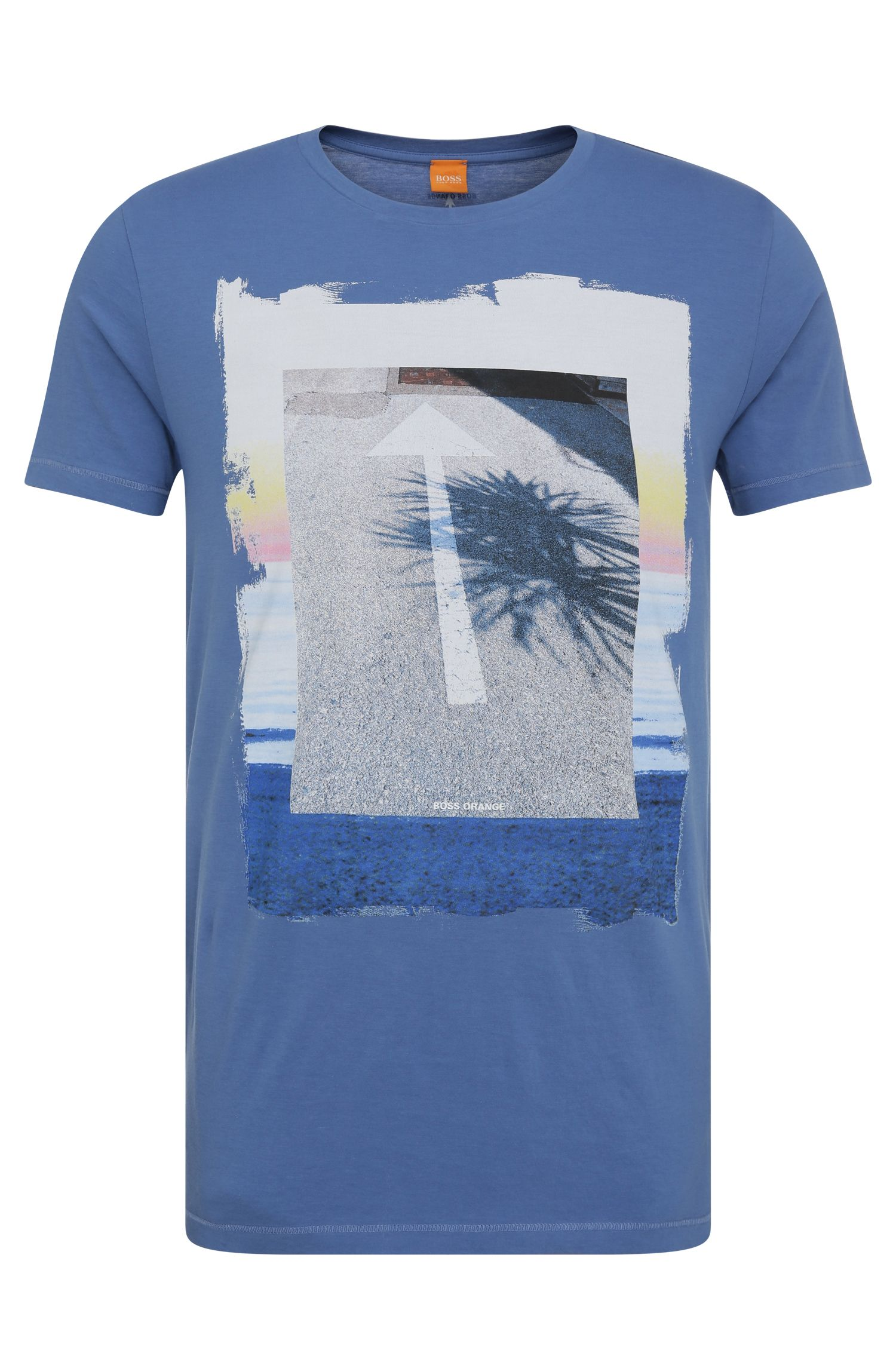 Regular-Fit Print-Shirt aus Baumwolle: ´Tintype 2`