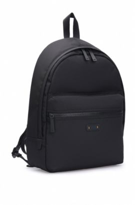 Sac à dos en nylon : « Saturn R_Backpack », Noir
