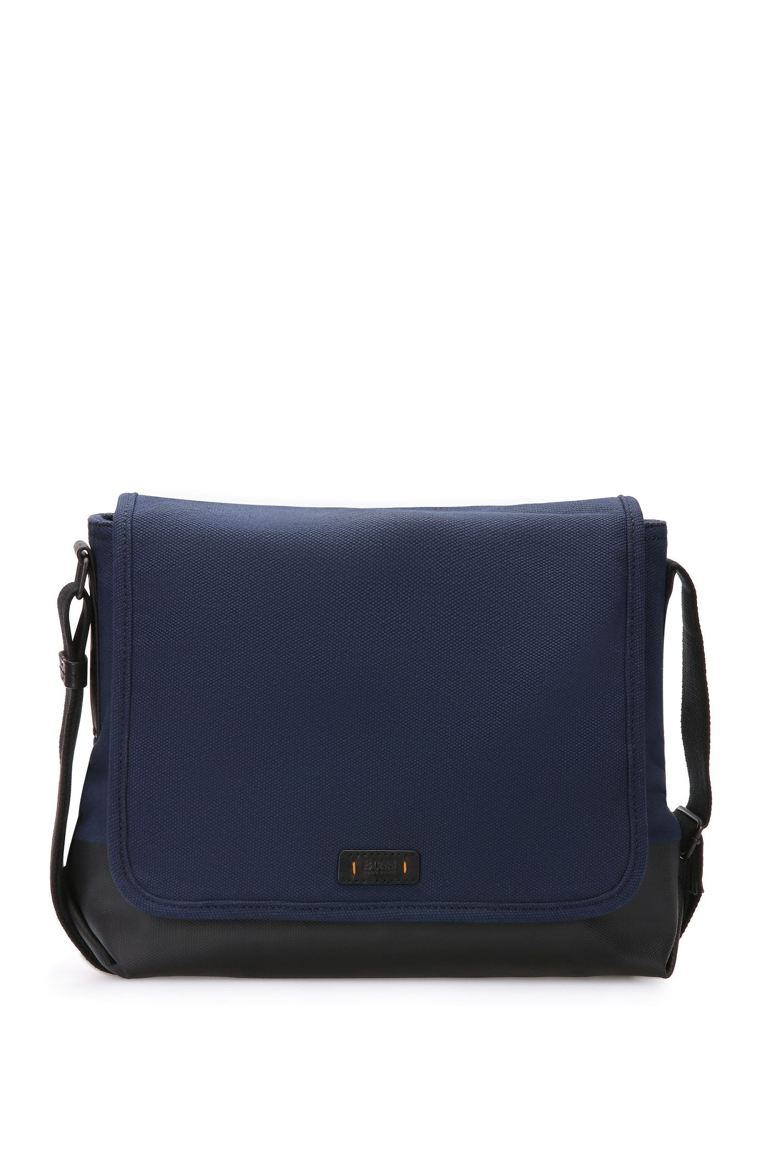 Messenger bag van katoen: 'Lightime_Mess flap'