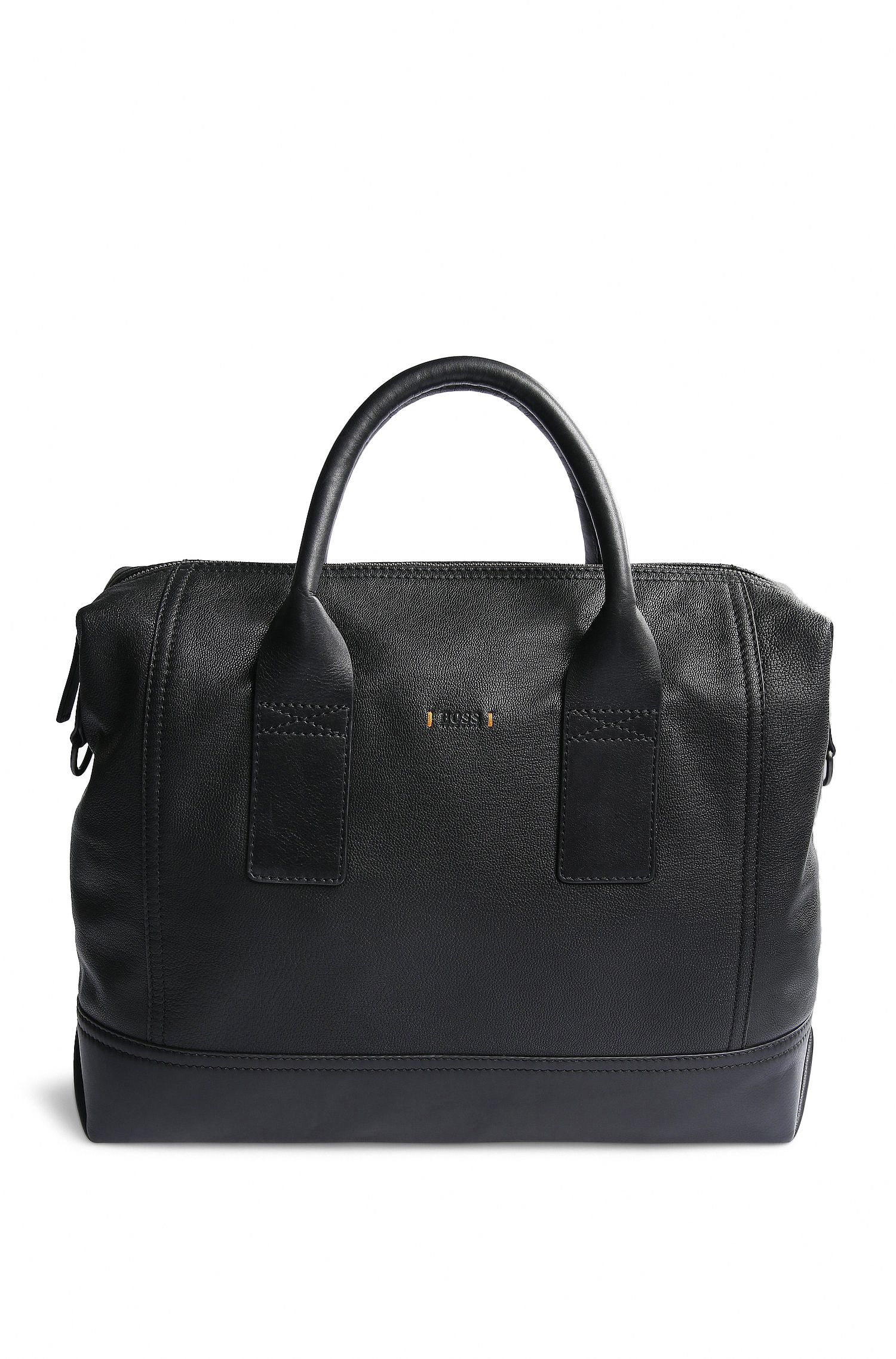 Work Bag aus genarbtem Leder: ´Streetline_S doc`