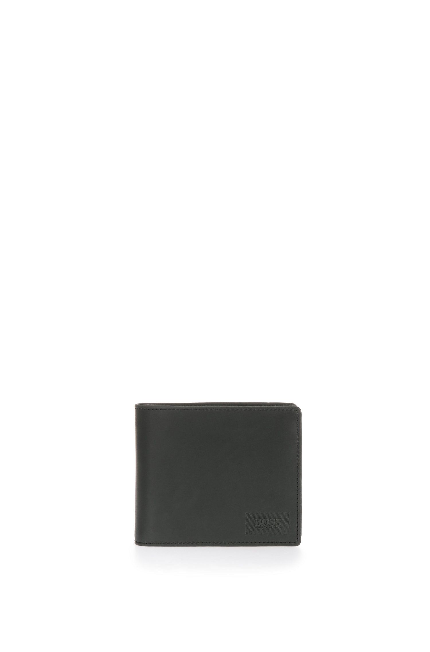 Smooth leather wallet: 'Pulse_Trifold'
