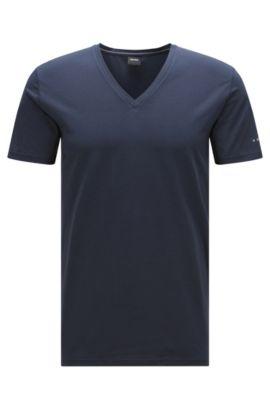Travel Line T-Shirt aus elastischem, atmungsaktivem Baumwoll-Mix: 'T-Shirt VN Cotton+ ', Dunkelblau