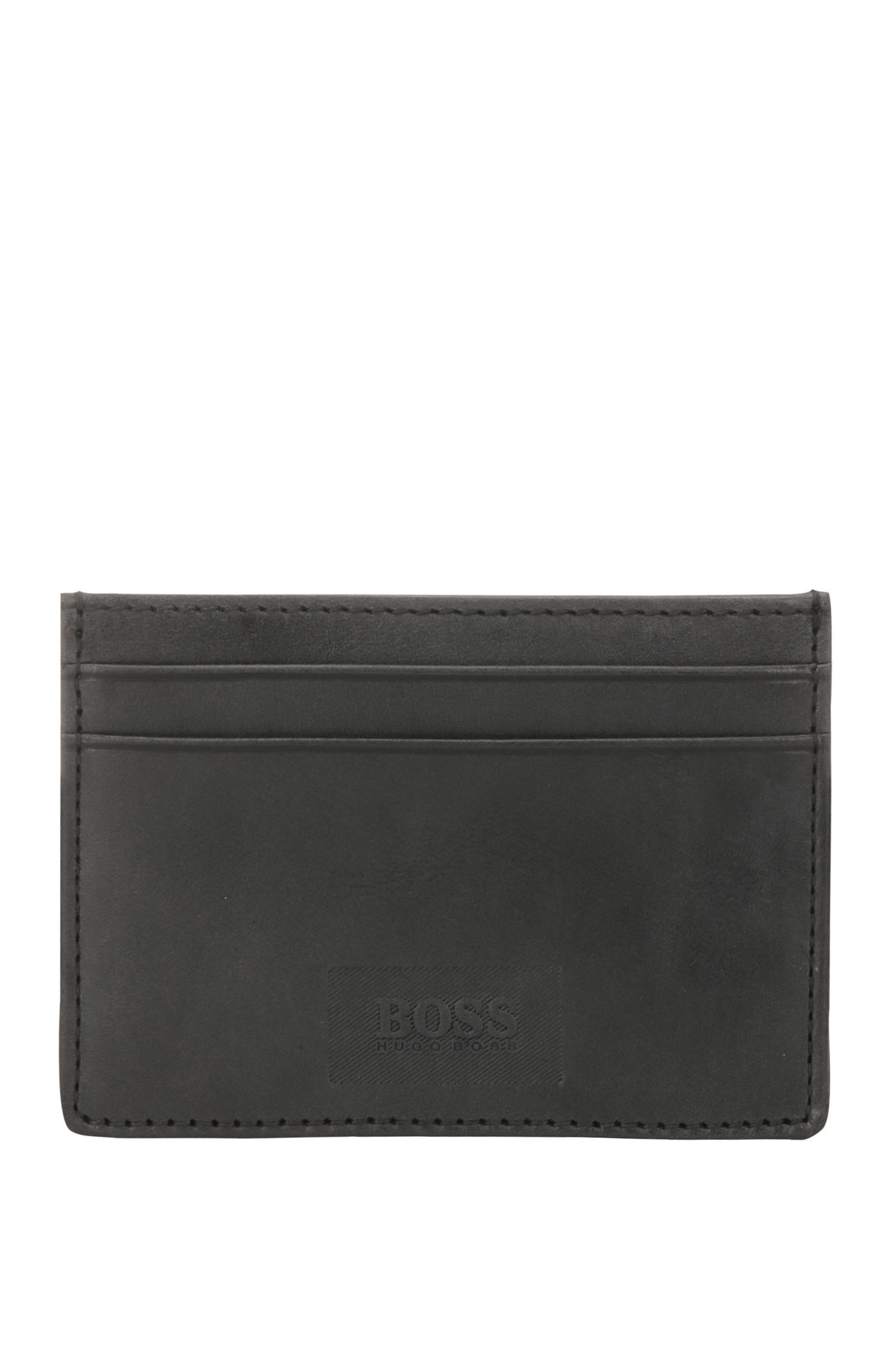 Leather card case: 'Pulse_S card'