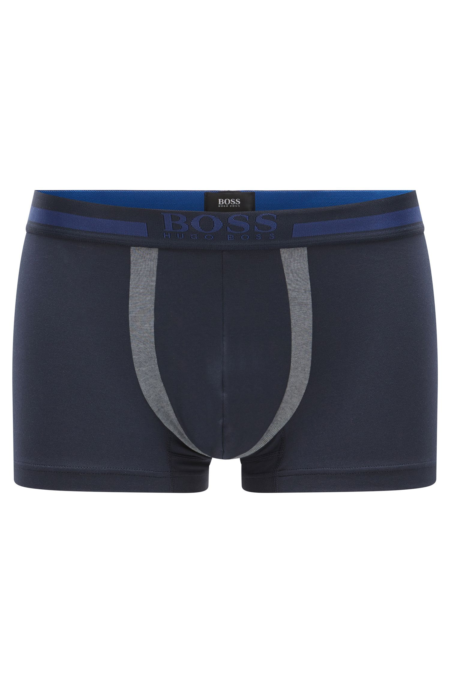 Boxershort van een luchtdoorlatende katoenmix uit de Travel Line-collectie: 'Trunk Cotton+'