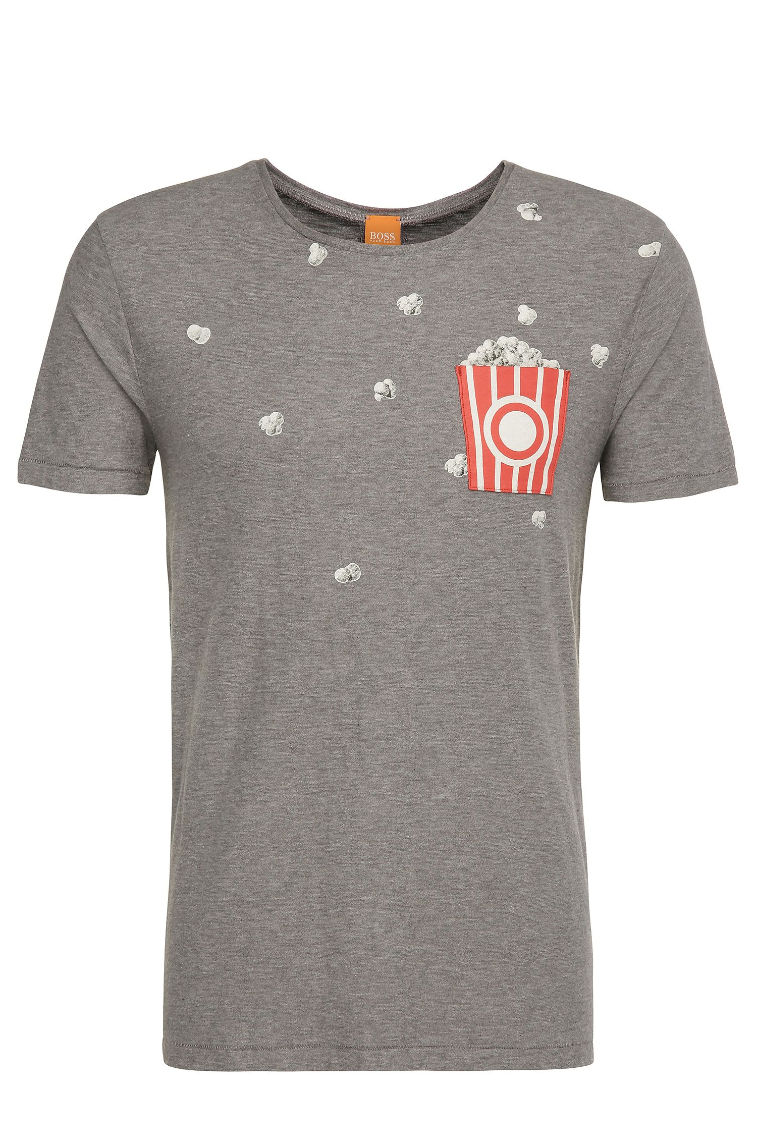 T-shirt regular fit in cotone con stampa: 'Toolbox 2'